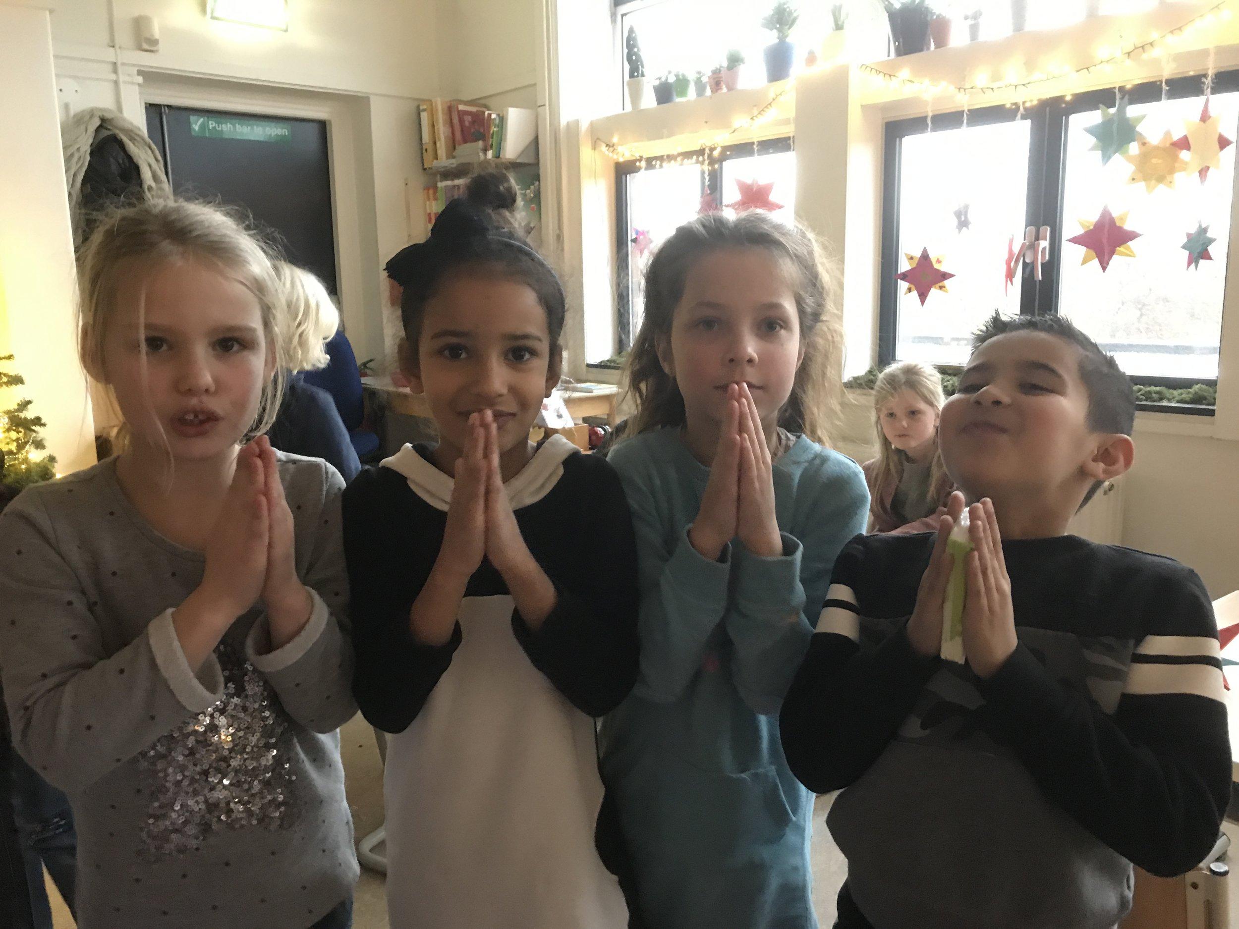 A heart-warming Namasté from the Dutch children for Nepal
