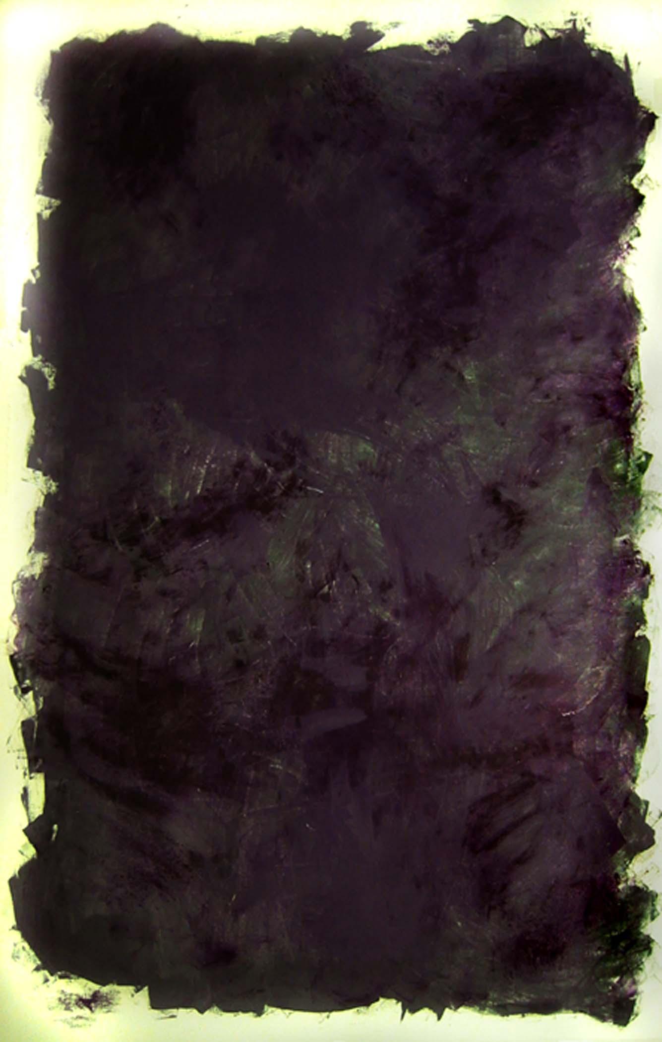 """Étant gris / Being grey,  2005, huile sur toile / oil on canvas, 92""""x 63"""", 234 x 160 cm."""