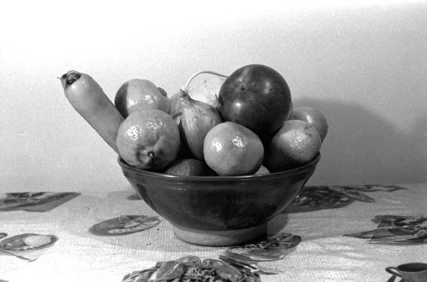 Fruits et légumes, 1972