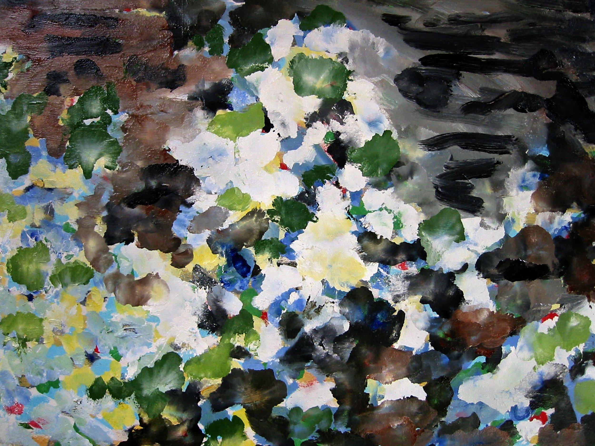 Réflections , circa 2005, huile sur toile / oil on canvas