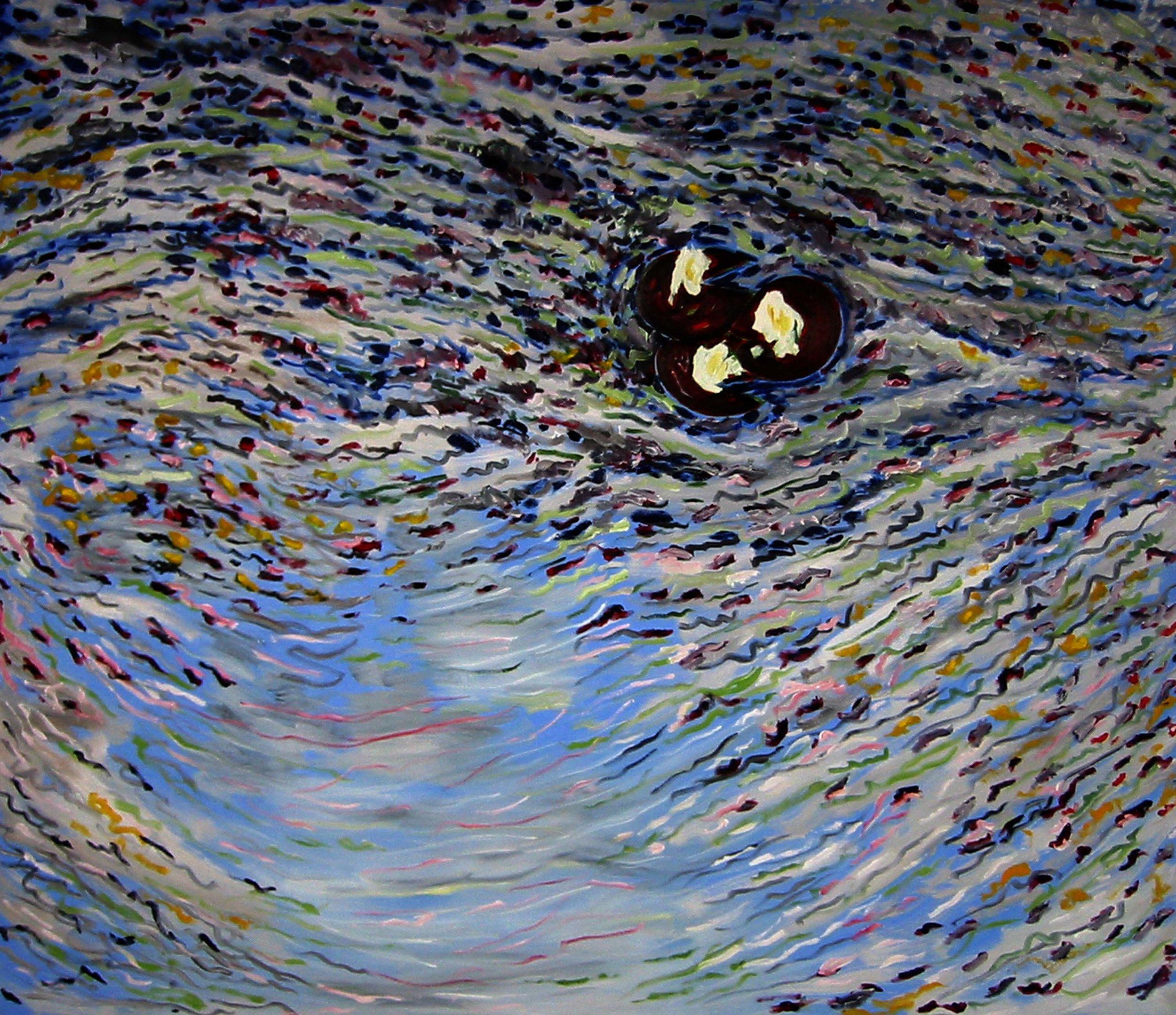 Réflexions No 2 , circa 2005, huile sur toile / oil on canvas