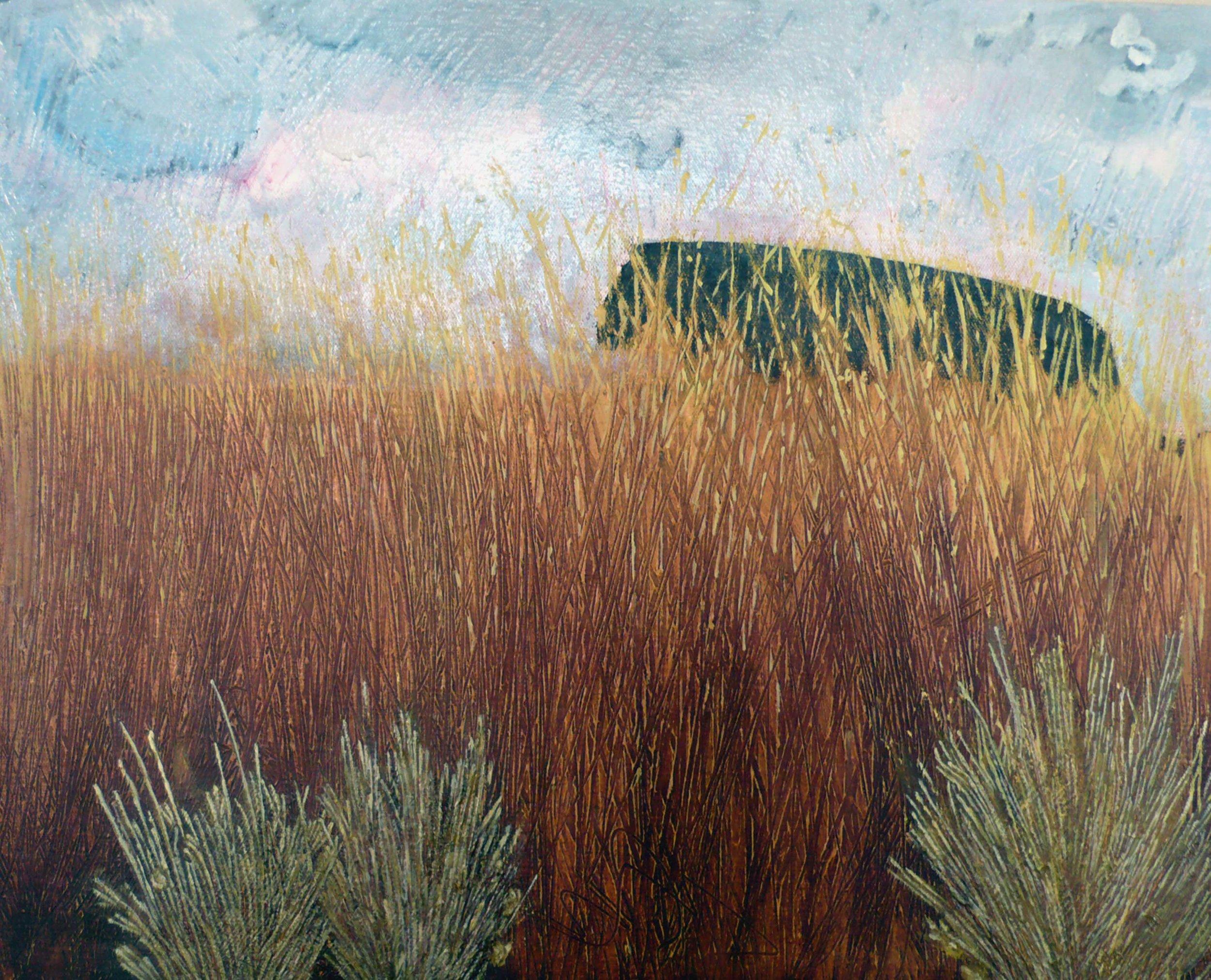 Paysage No 10 , circa 2008, huile sur toile / oil on canvas