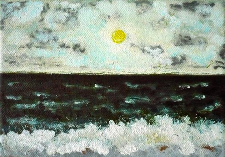 Confondre l'aurore pour un crépuscule , 2010-2011, huile sur toile / oil on canvas