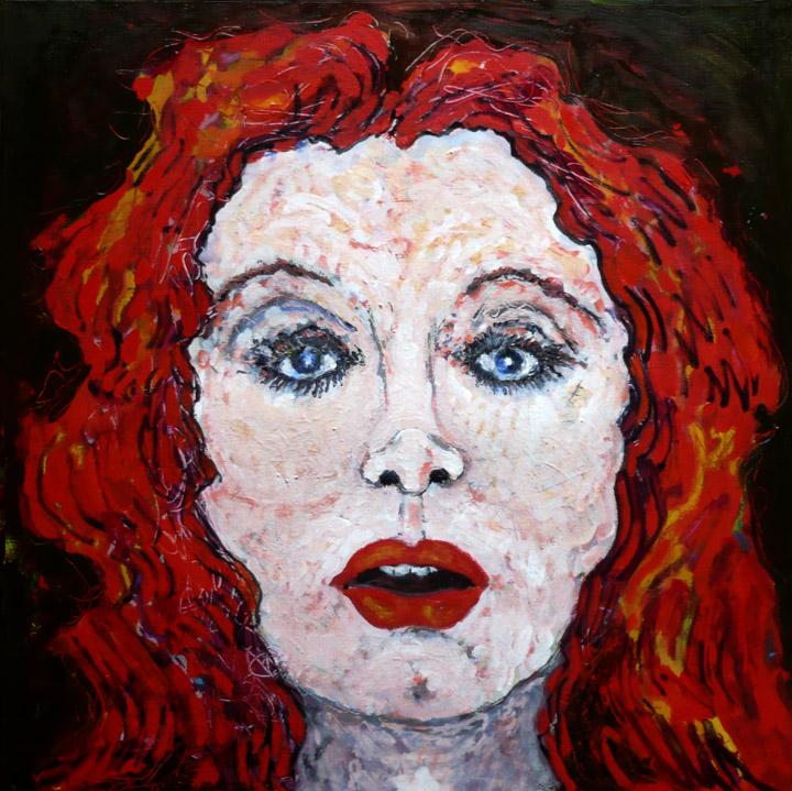 Étonée , 2010-2011, huile sur toile / oil on canvas