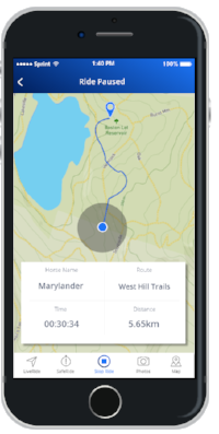 Ride tracking will be one of the unique features on Huufe.