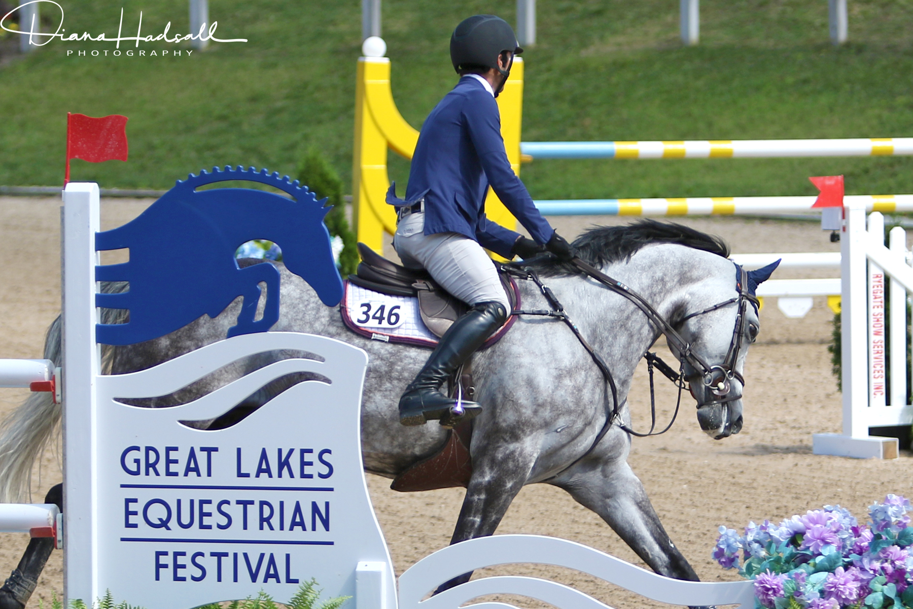 Stallershows was at the Great Lakes Equestrian Festival to pilot the new platform.