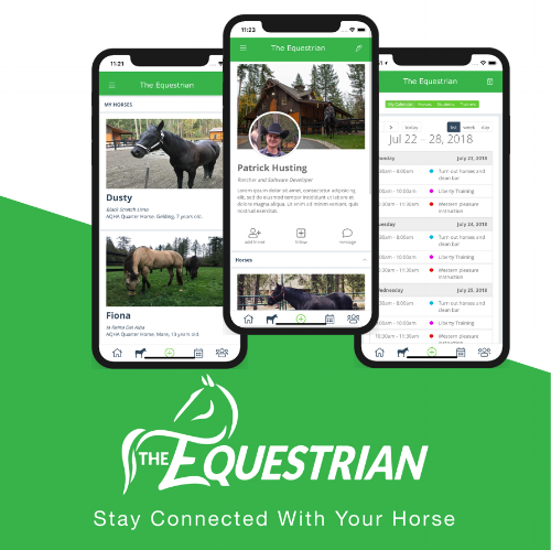 The app delivers an easy interface and plenty of functionality to help equestrians stay connected and organized.