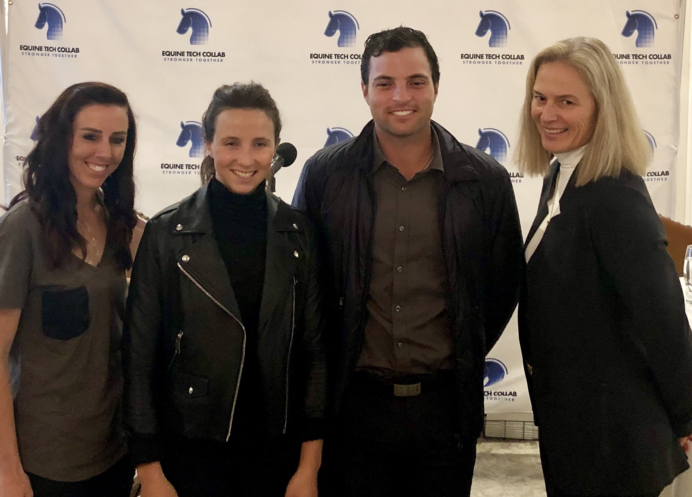 (From left to right)  Kasey Perry-Glass ,  Adrienne Sternlicht ,  Daniel Bluman  and  Tonya Johnston