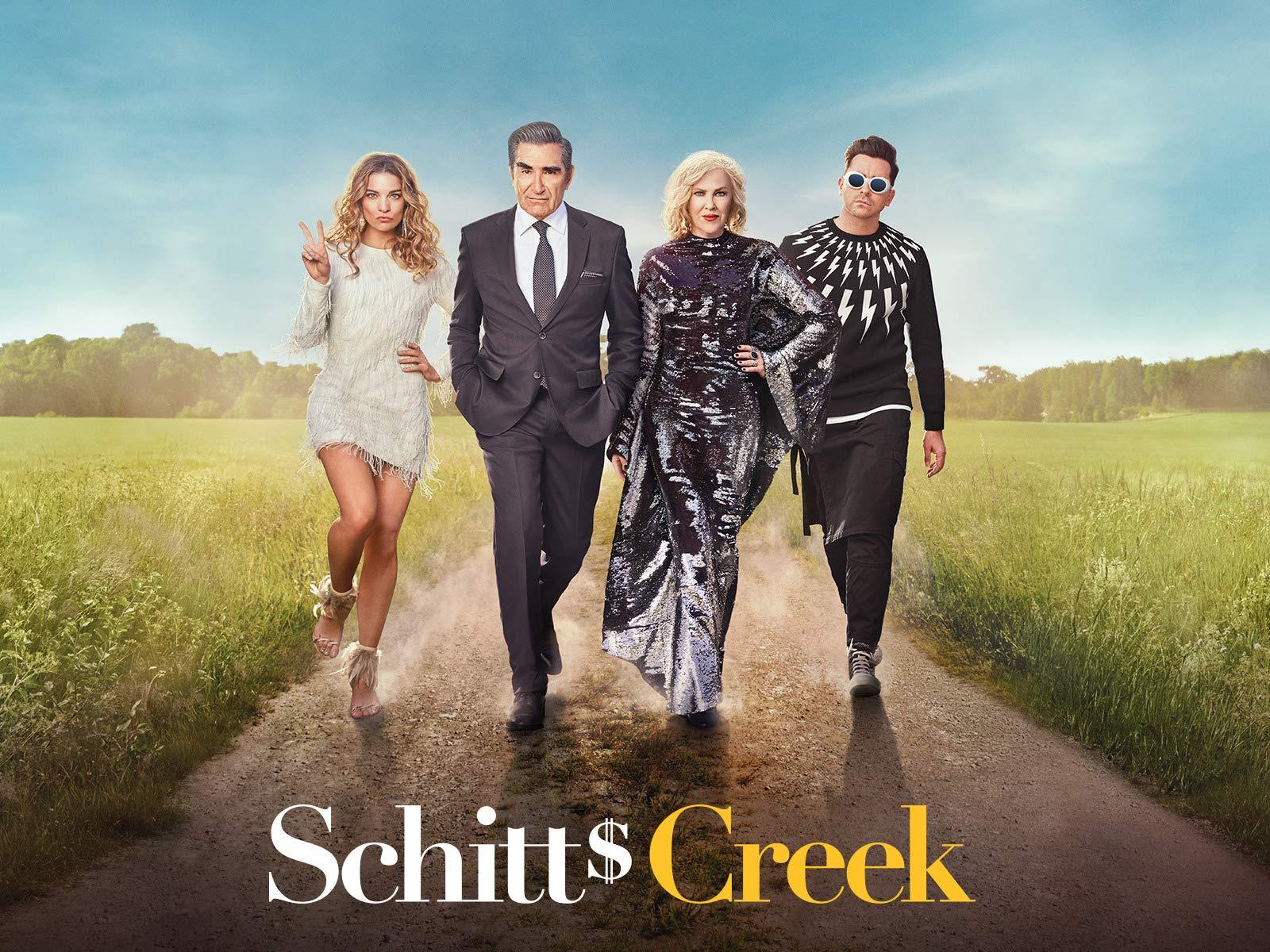 Jeff is a big fan of the Canadian sitcom, Schitts Creek
