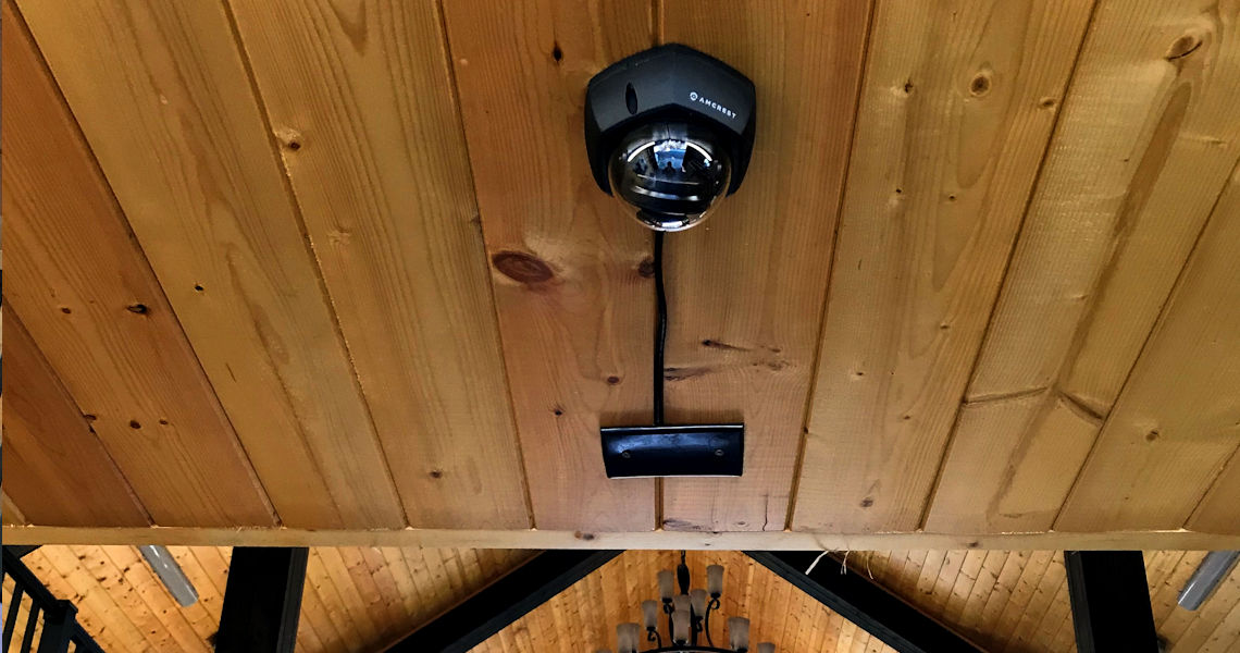 """""""Security cameras give you eyes that you never had before and as we know in the horse world, anything can happen."""""""