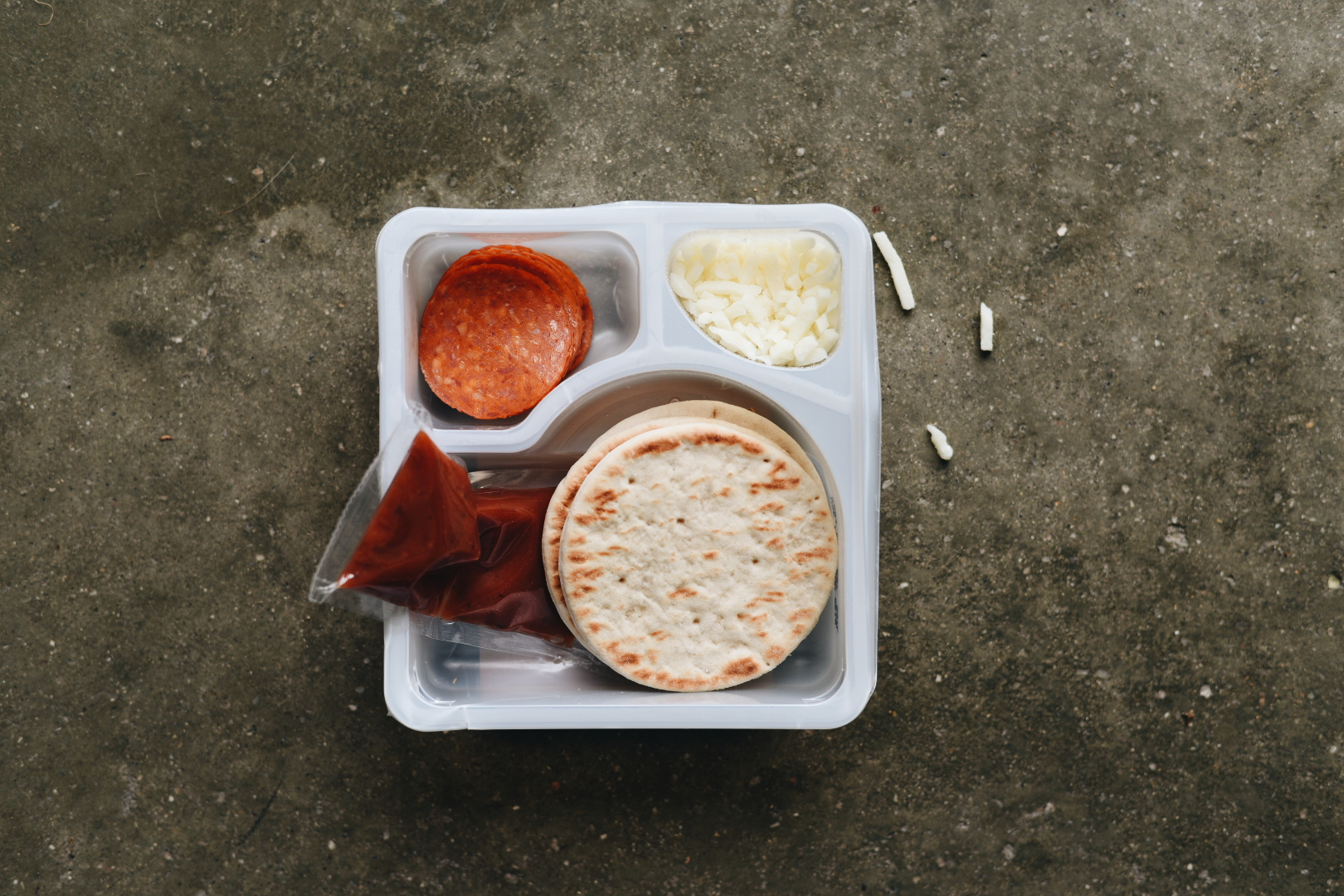 L is for school Lunch.