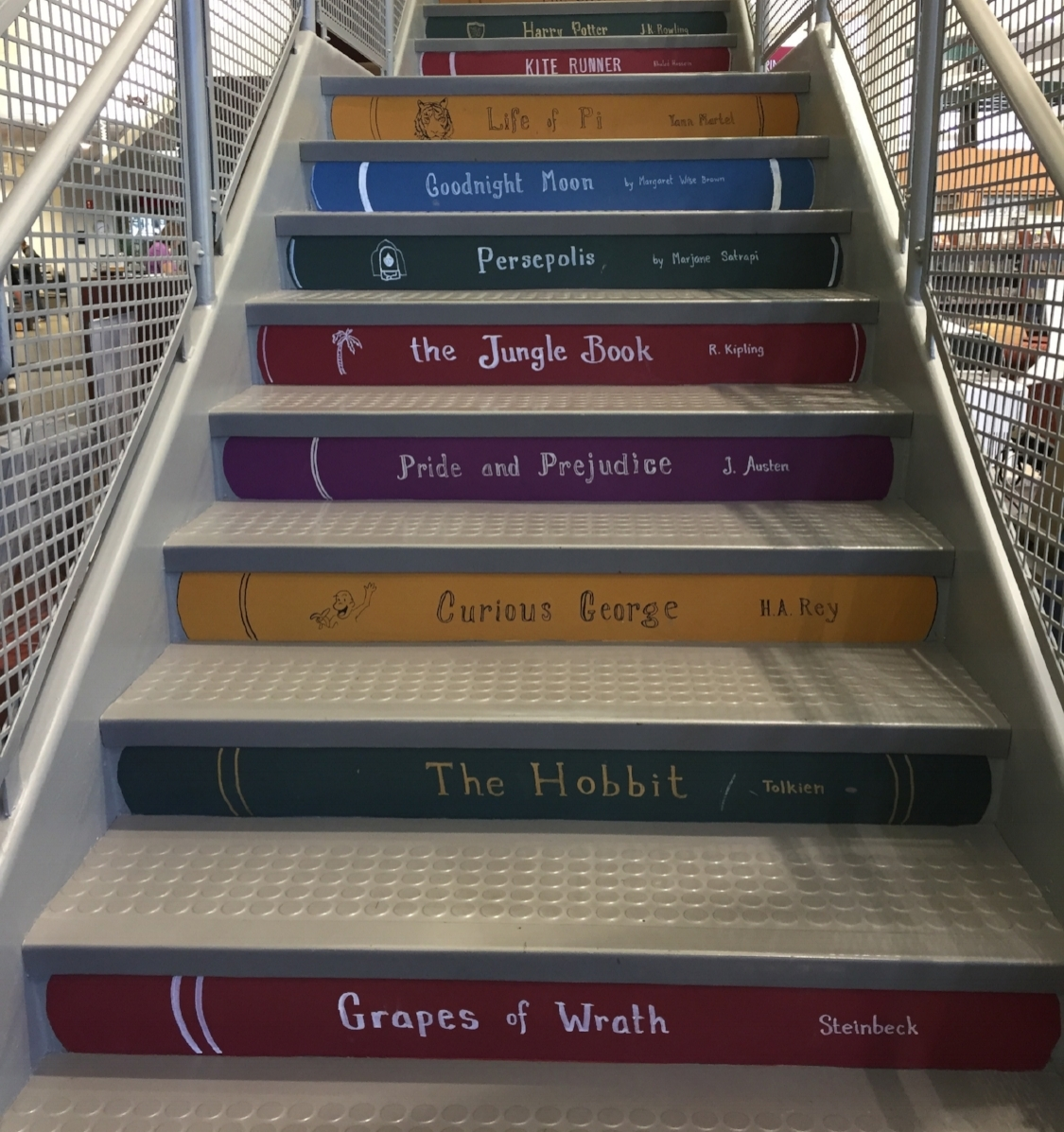 O'Fallon, IL Library Stairs