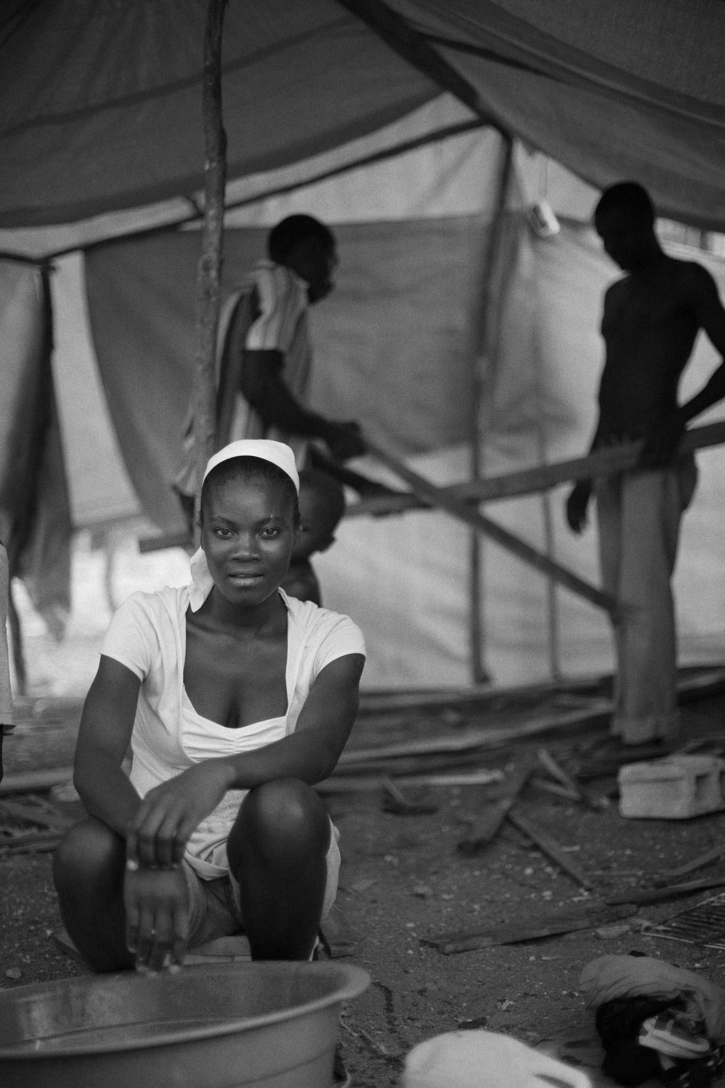 January 15, 2018   Haiti remembrance day 3.  One of my favorite portraits. (Note: On a fellowship at the Dart Center for Journalism and Trauma this was all I could post on that day as we were not connecting to the internet for much of the day.)