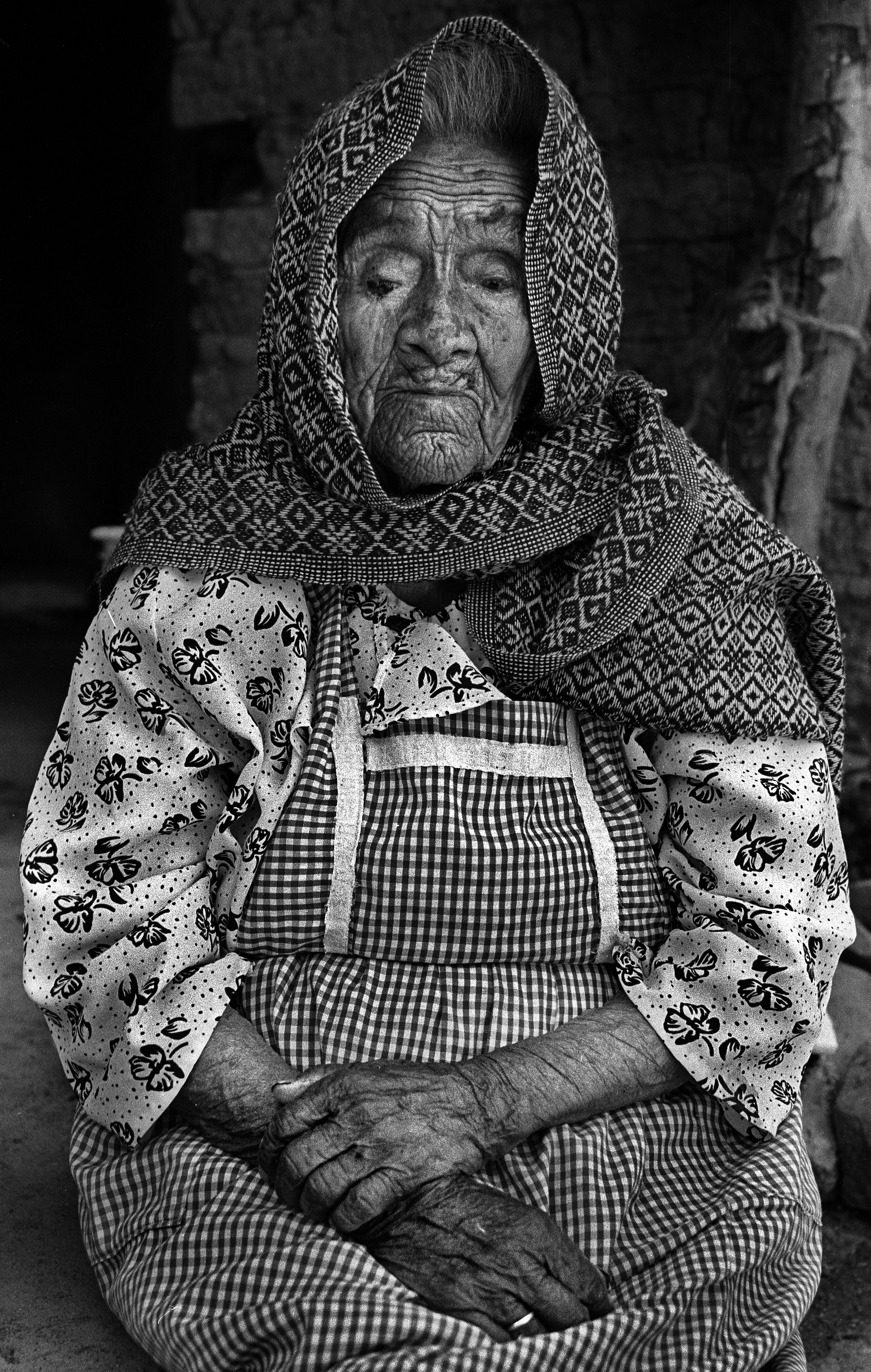Natalia Ramirez Hernandez, 94.  Ms. Hernandez had 12 children during her marriage.  When she was 39 her husband decided to leave for the United States and she followed him to the border. He made it across. She didn't. They never saw each other again. Alone, she returned to her home in Mexico where she spent the rest of her life picking crops for other people: cotton, potatoes, strawberries, corn. She said that eight of her children died due to malnutrition. She was too poor to afford the crops that she spent her life picking.