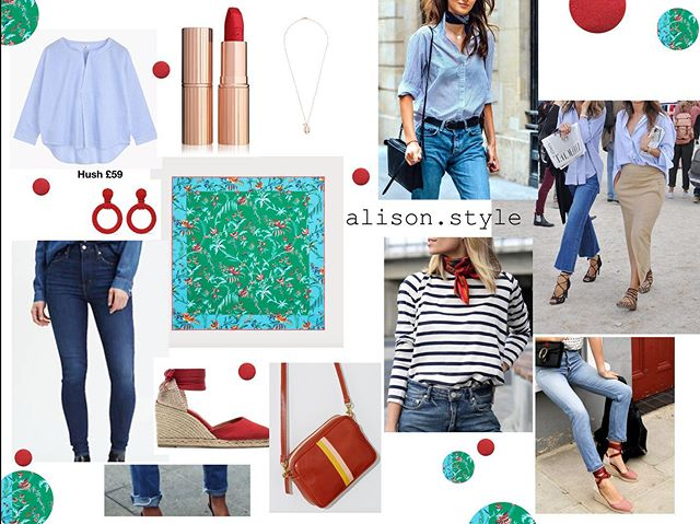 I have FINALLY created some outfits on my site. A real mix of sale and new season! Everything is linked under my 'Online Styling & Outfitting' link at www.alison.style! Go have a wee browse. Some items that have caught my eye when out shopping! All pieces which are versatile and easy to wear and outfit build around for a variety of occasions, styles and seasons! . #personalstyling #versatility #dressupdressdown #londonstyle #outfitoftheday #londonfashion #whatwilliwear #outfitideas #summerstyle #personalstylist #style #fashion #navyjumpsuit #shirtdress #blackmaxidress