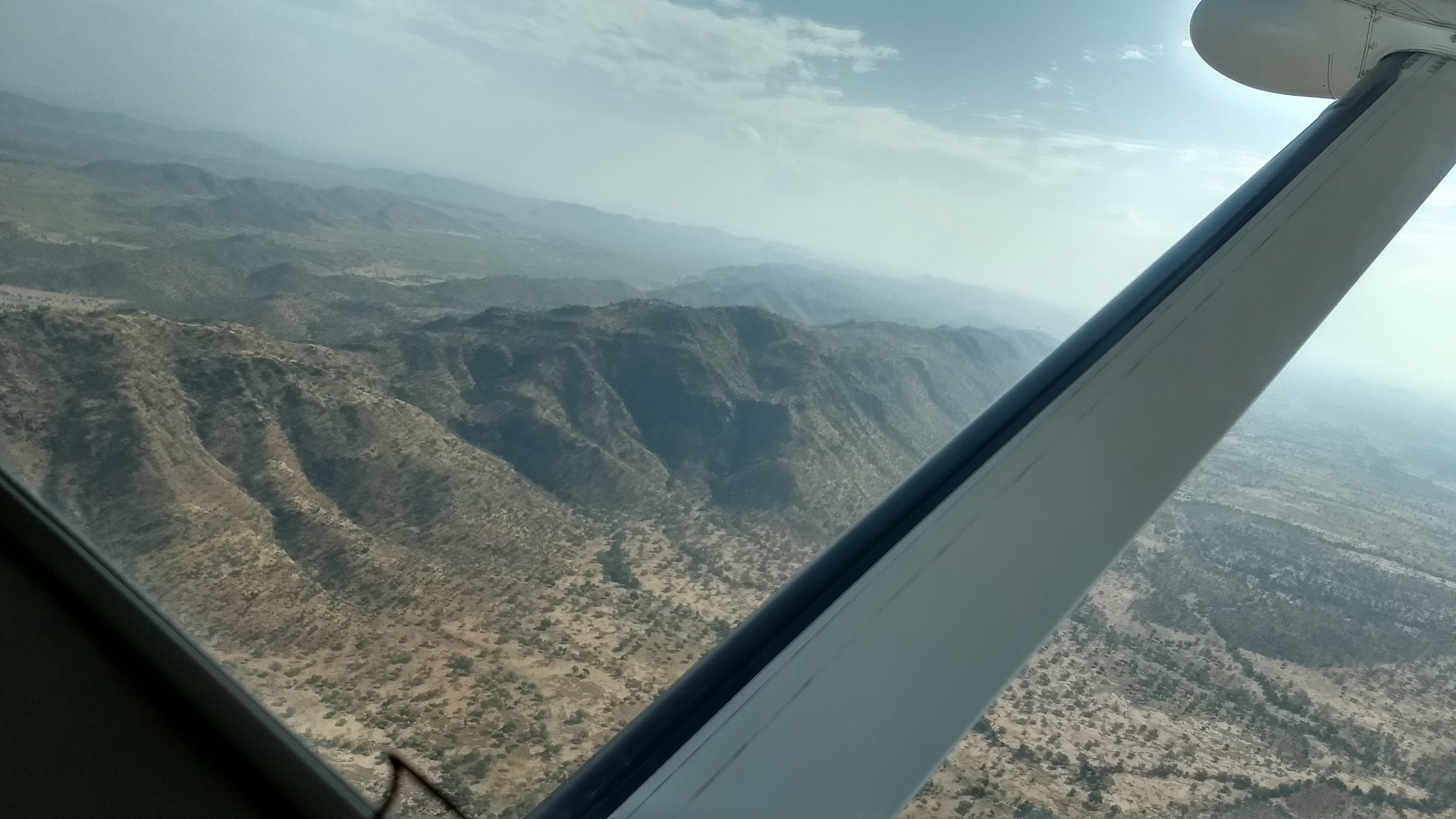 The beautiful terrain of Chad.