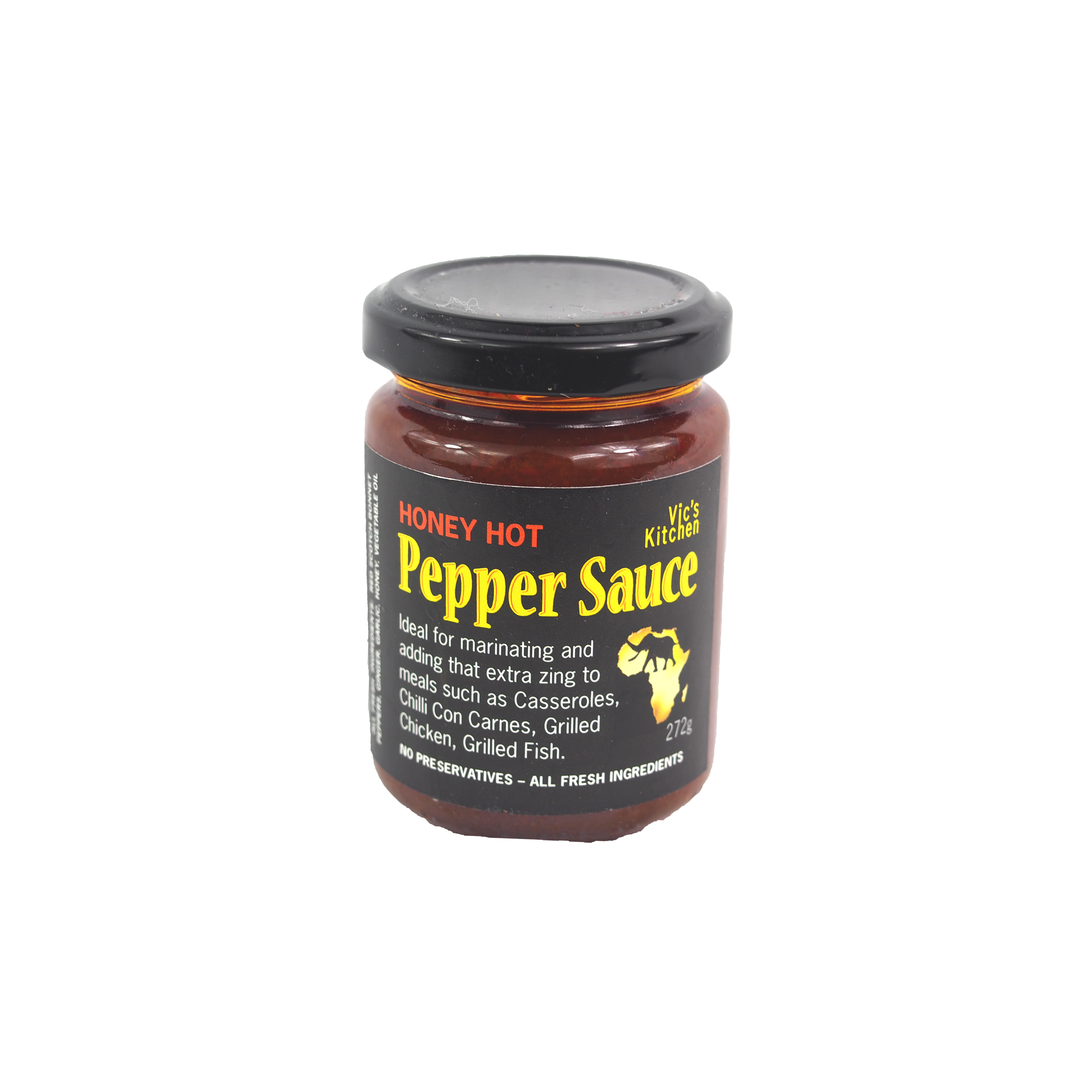 - Vic's Kitchen pepper sauce