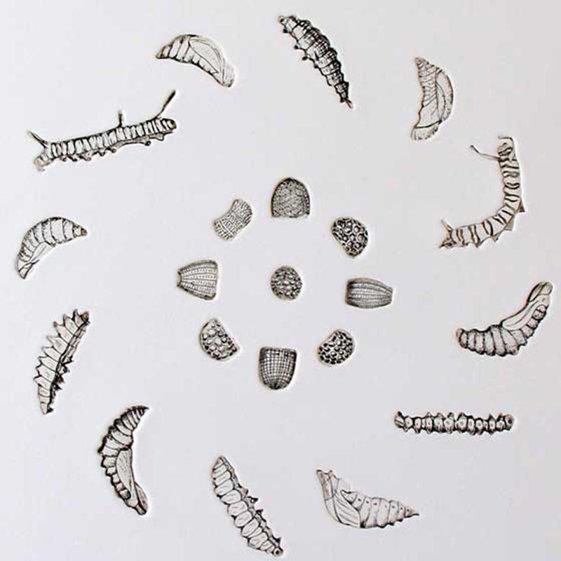 Mandala for New Beginnings (2013) - Detail