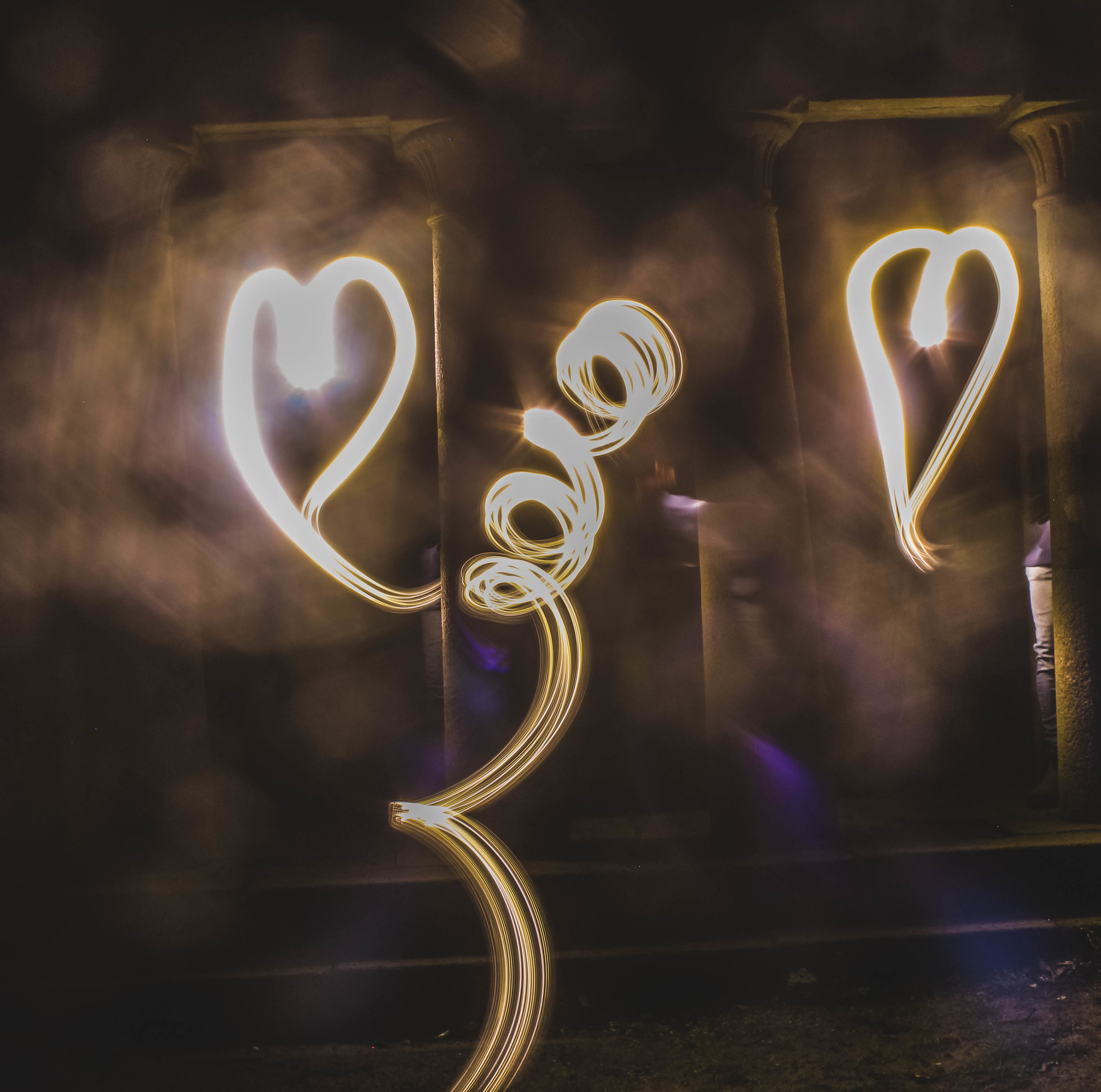 Photography Light Painting.