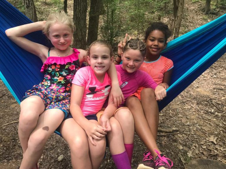 Campers spending time together. Together is Better.