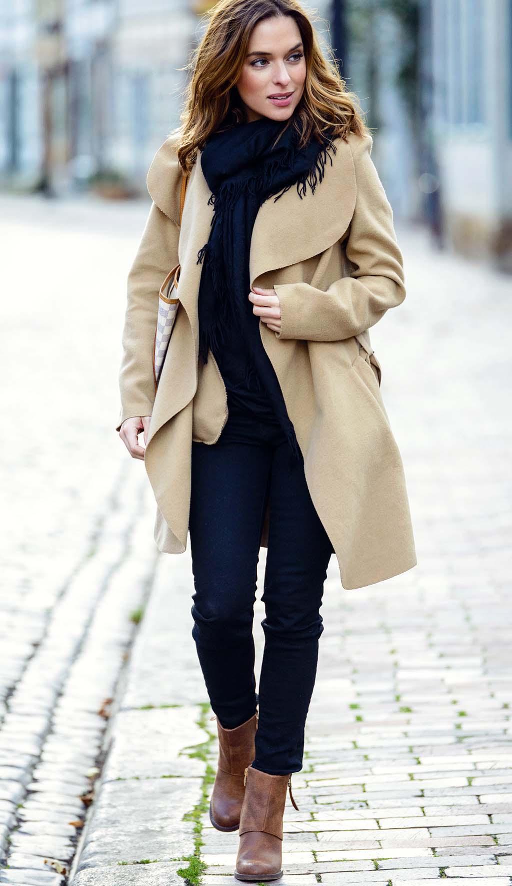 Winter Peoplemodel Look