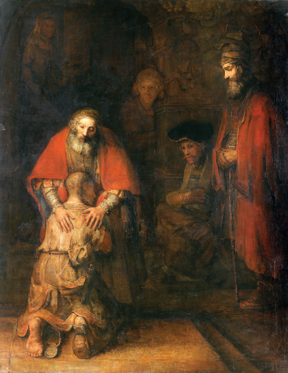 Rembrandt's,  The Return of the Prodigal Son, c. 1661-1669