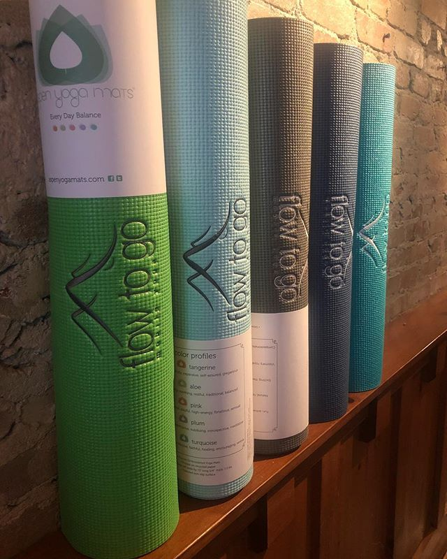 In any given moment, we're bombarded by tasks we have to remember: turn off the iron; pick the kids up from practice; don't forget the conference call. Remembering your yoga mat should never be one of them. We'll always have a few extra, just for those hectic days. Thank you,Aspen Yoga Mats LLC., for these vibrant and wonderfully-constructed beauties! #namaste #yoga #knoxville #yogamats #customyogamats #knoxvilleyoga #aspenyoga #aspenyogamats @aspenyogamats