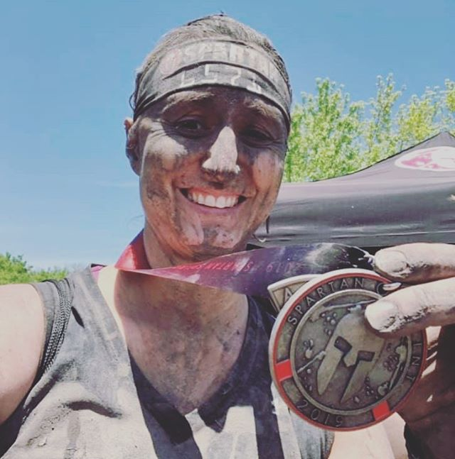 Shout out to @lisaj_running_writingmystory for being the first @xcel2fitness Dream Builder!!!! Lisa completed the @spartanrace sprint this past Saturday in support of our @X2FnwIndiana chapter and the work being done to empower more youth to overcome their obstacles and be #Dreamchasers throughout the NW Indiana community! Thank you @lisaj_running_writingmystory, YOU ROCK!!!