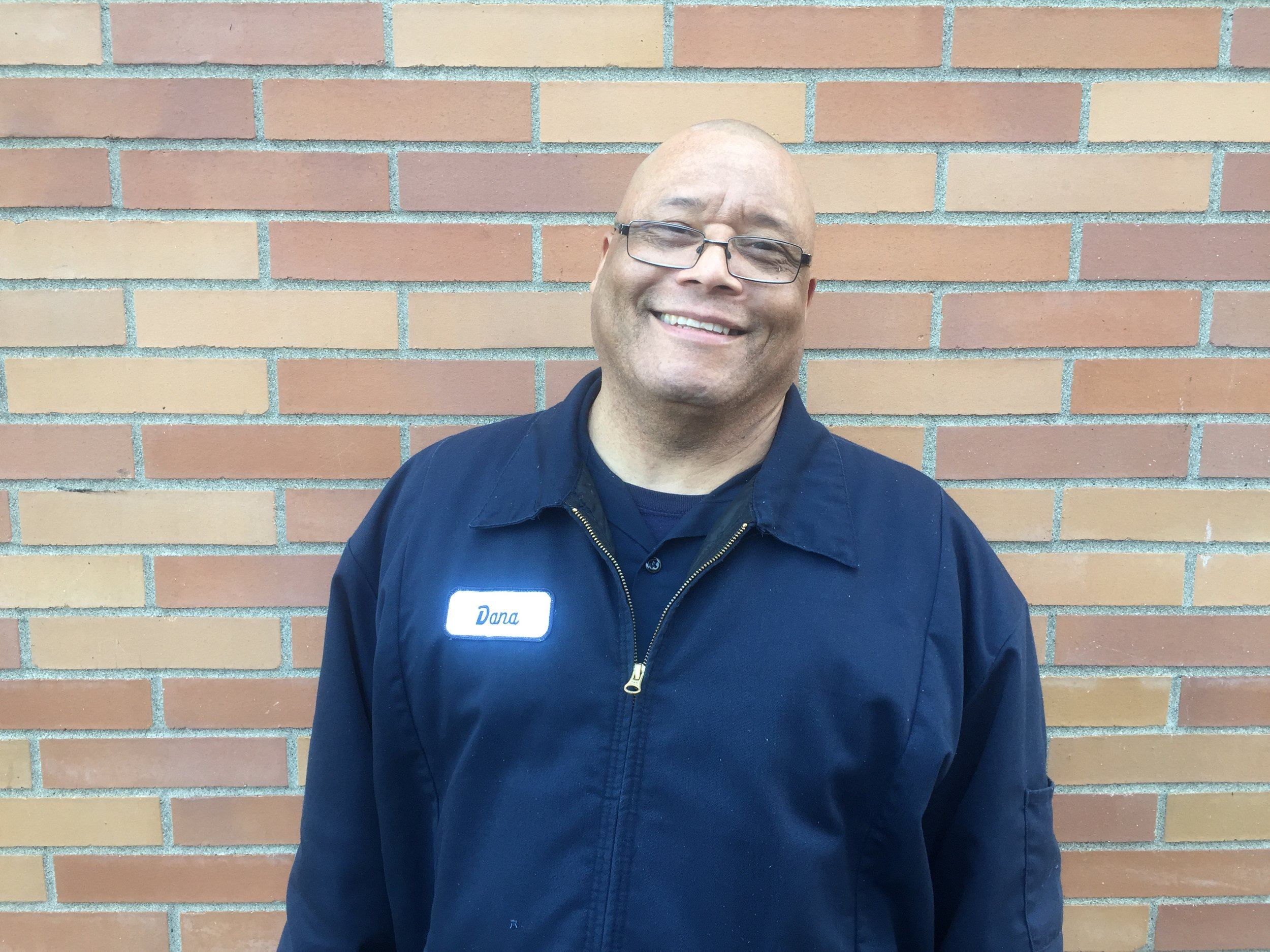 Dana Cook - Full-time custodian