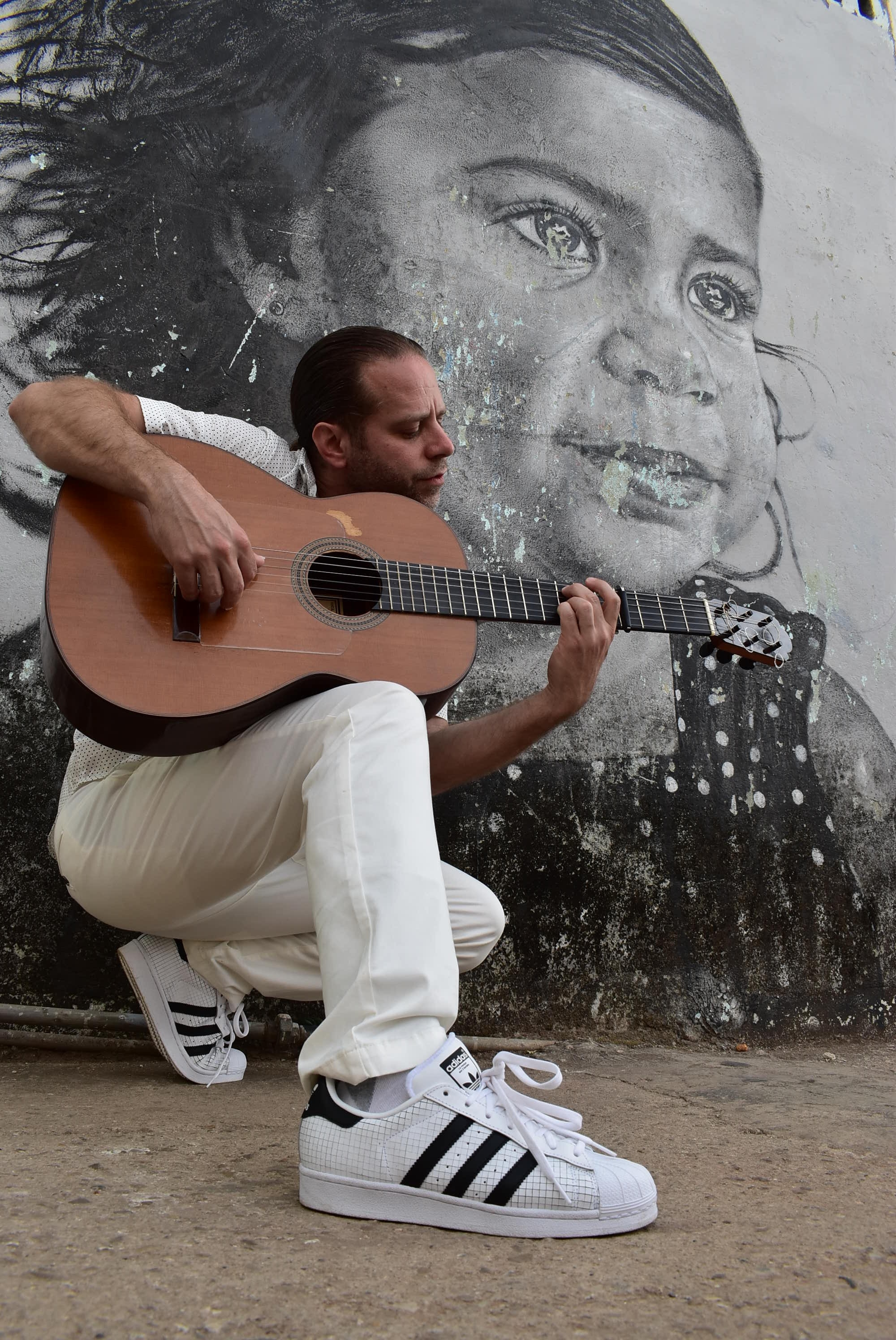 Rockin'the Adidas in Miramar, Cuba. Photo credit  Muse Corp NY
