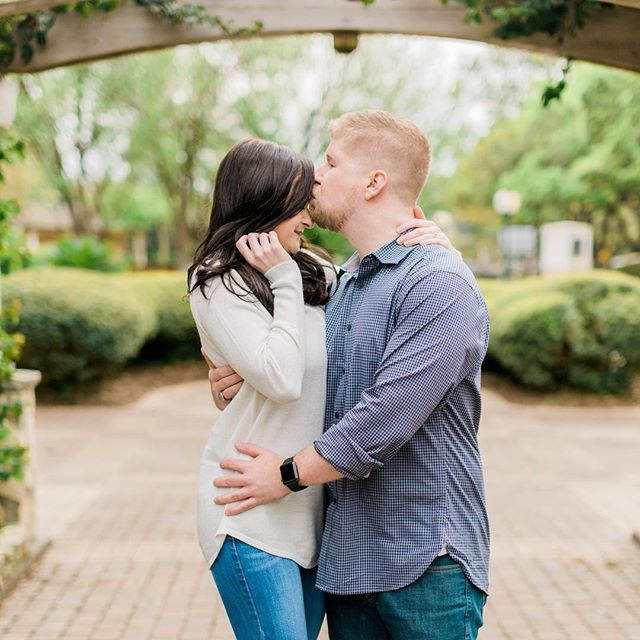 Strike up the band, and make the fireflies dance, silver moon's sparkling...So kiss me 💋 . . . #houstonweddingphotographer #houstonengagementphotographer #unposed #wedhouston #weddingchicks #risingtidesociety #lookslikefilmweddings #belovedstories #chasinglight #mylifeinlove #portraitcollective #houstonbride #theknothouston #houstonbrides #houstonengagement #weddingsinhouston #austinweddingphotographer #couplesgoals #hillcountryweddings #goldenhour #helensgardens #springtime #romantic #fineartweddings #mastinlabs #fuji400h #thehappynow #prettywedding #filmisnotdead #lookslikefilm