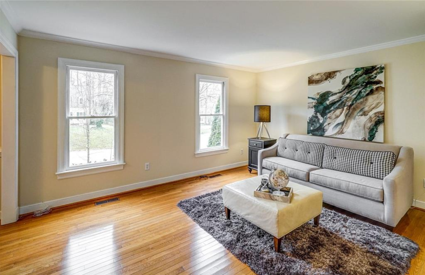 """This home that we staged, """"sold"""" in 48 hours after listing."""