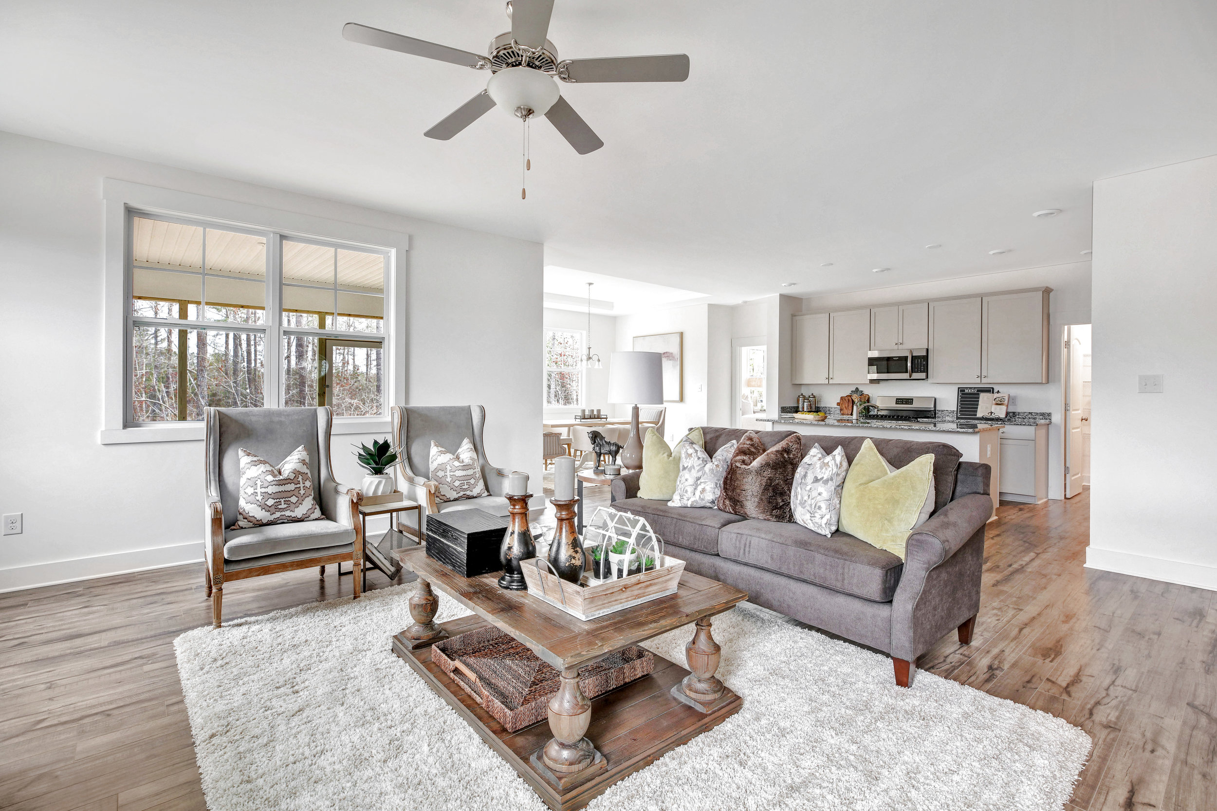 A Vacant Staging for Lifestyle Home Builders, Photo by: Tour Virginia Homes