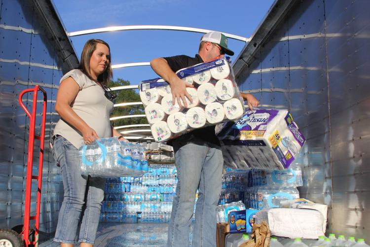 Water Delivery for Hurricane Victims