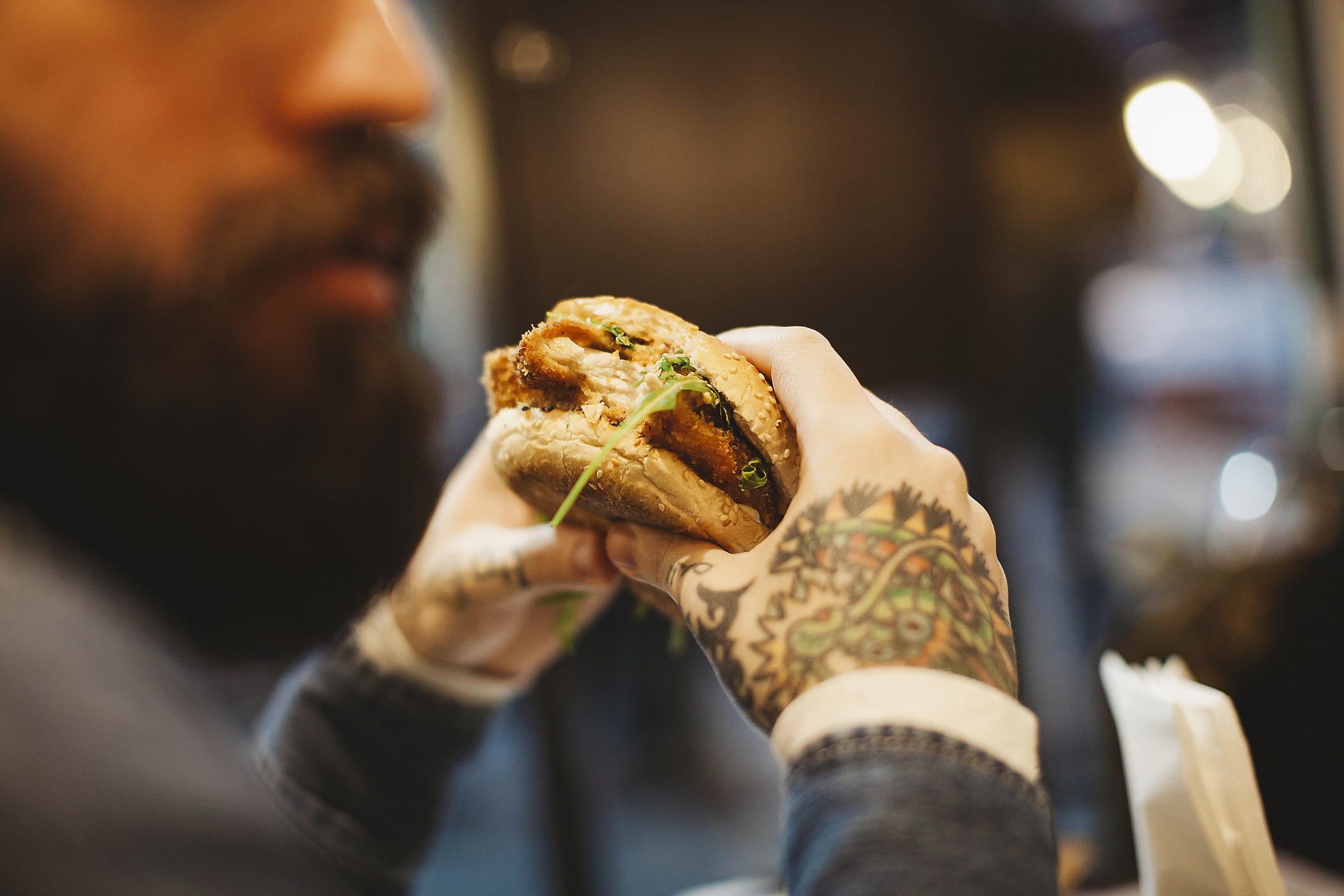BURGER IN TOWN -