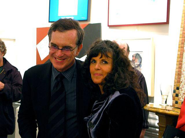 Doonesbury creator, cartoonist Garry Trudeau and Jerelle Kraus