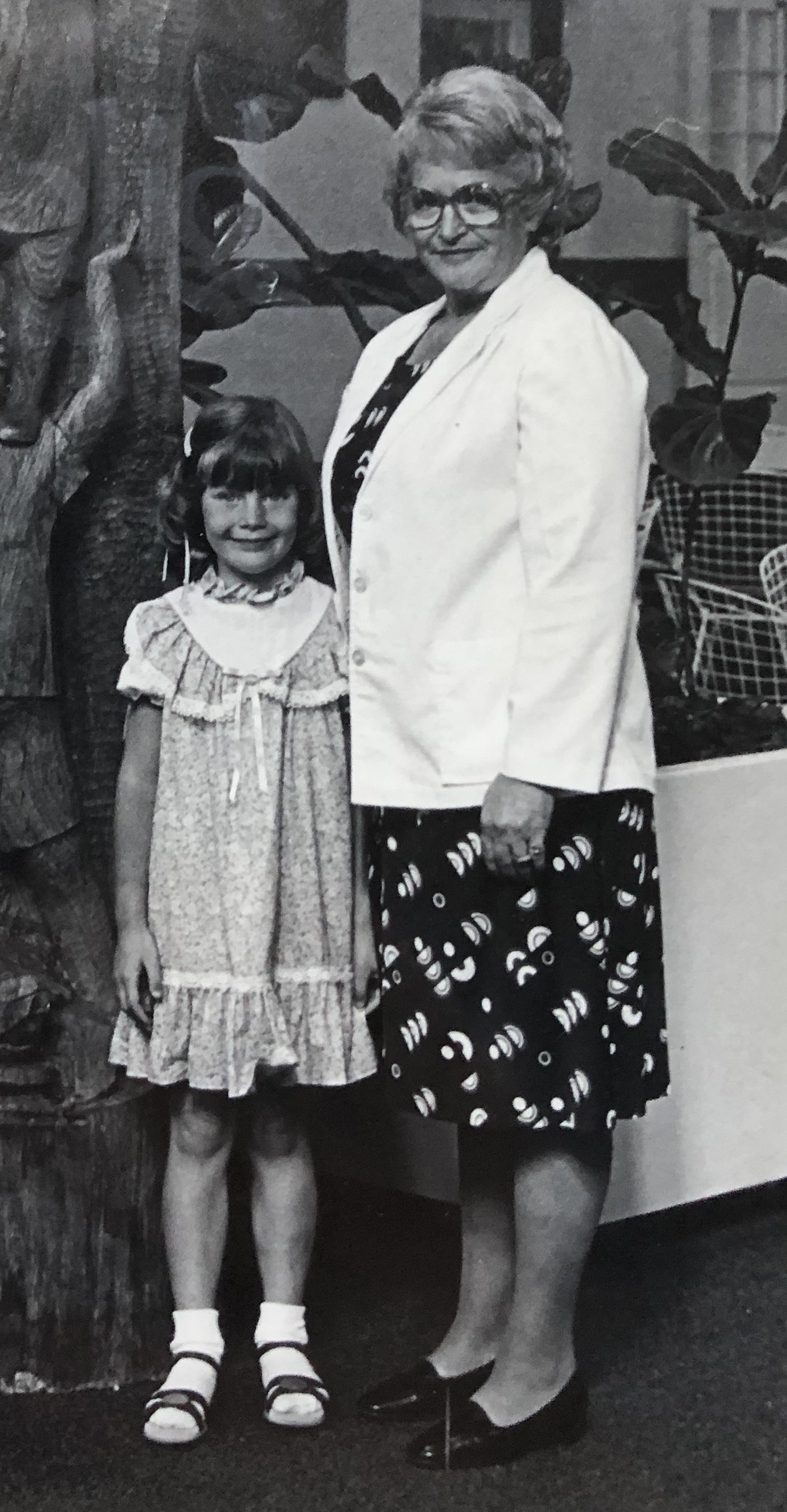 Grandma Lucy and I, 'round about '83
