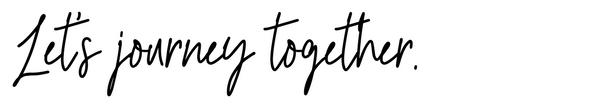 Let's Journey Together