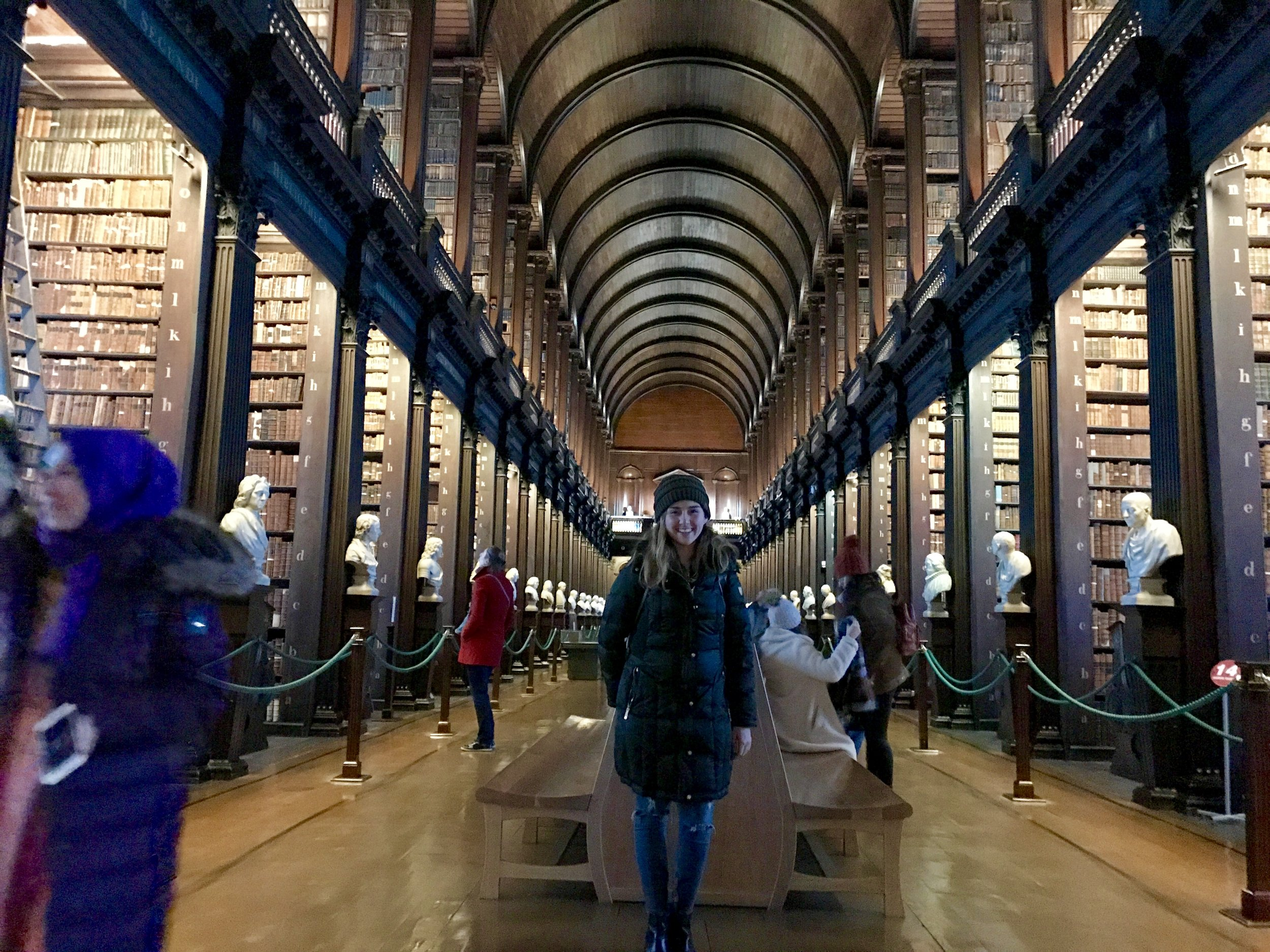 The Long Room, Trinity College, Dublin