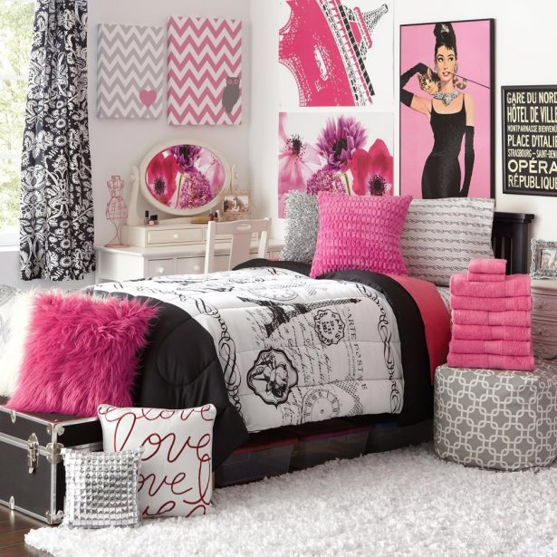 Girl's childhood bedroom, somewhere in central Ohio. Sponsored by Dayton Target™