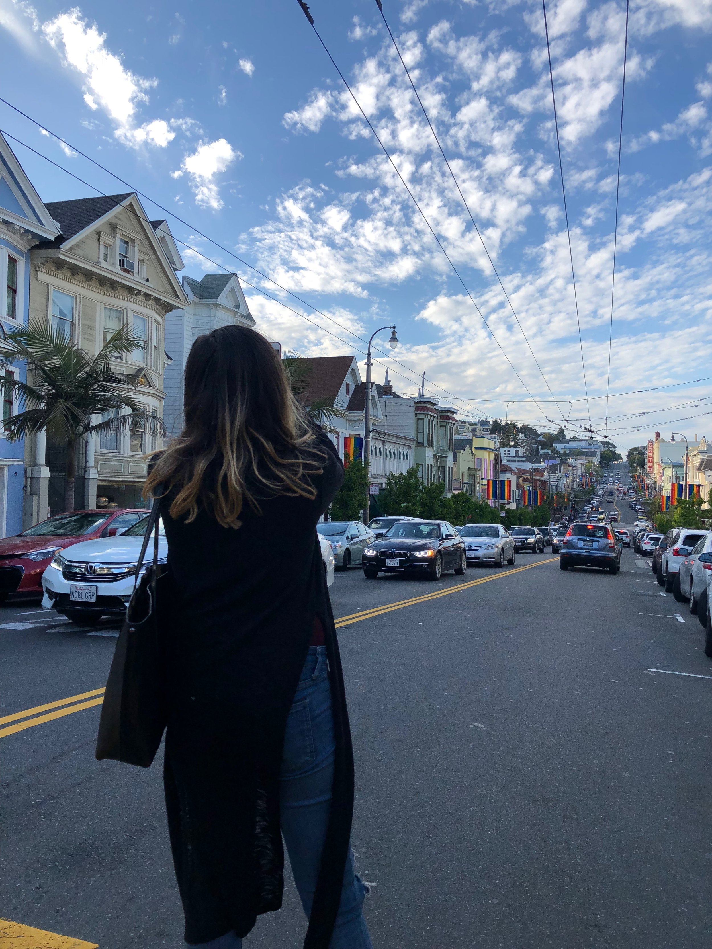 Boston is a progressive city, but I have never felt more open-armed love seeping out of every corner than I did exploring The Castro. Seeing that pride flag shining on a hill induced hard tears I didn't know I had.