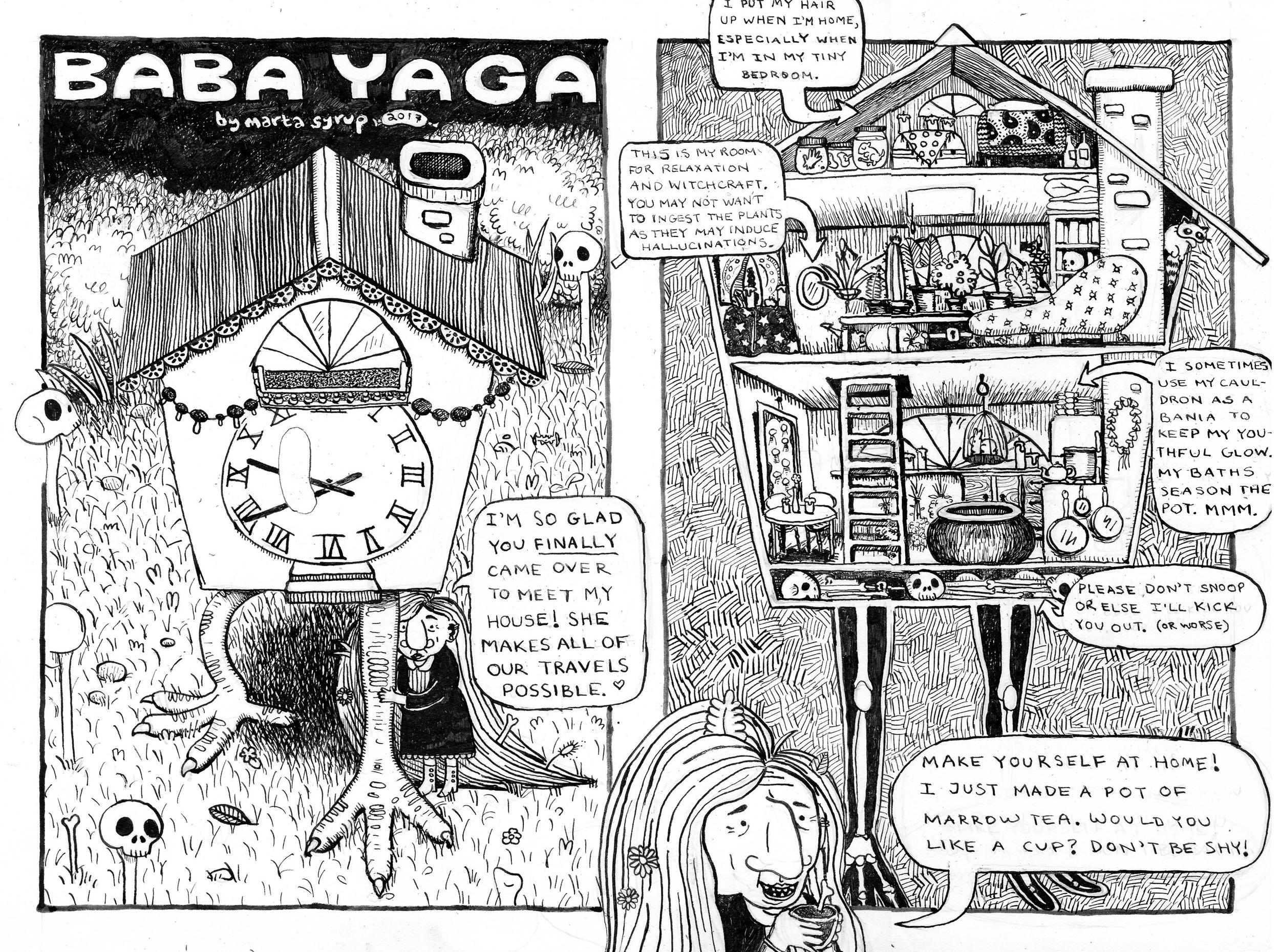 Baba Yaga #3 - The Chicken House