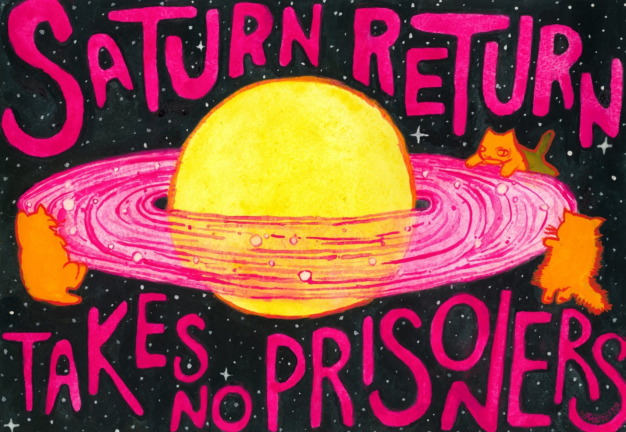 Saturn Return (Takes No Prisoners)