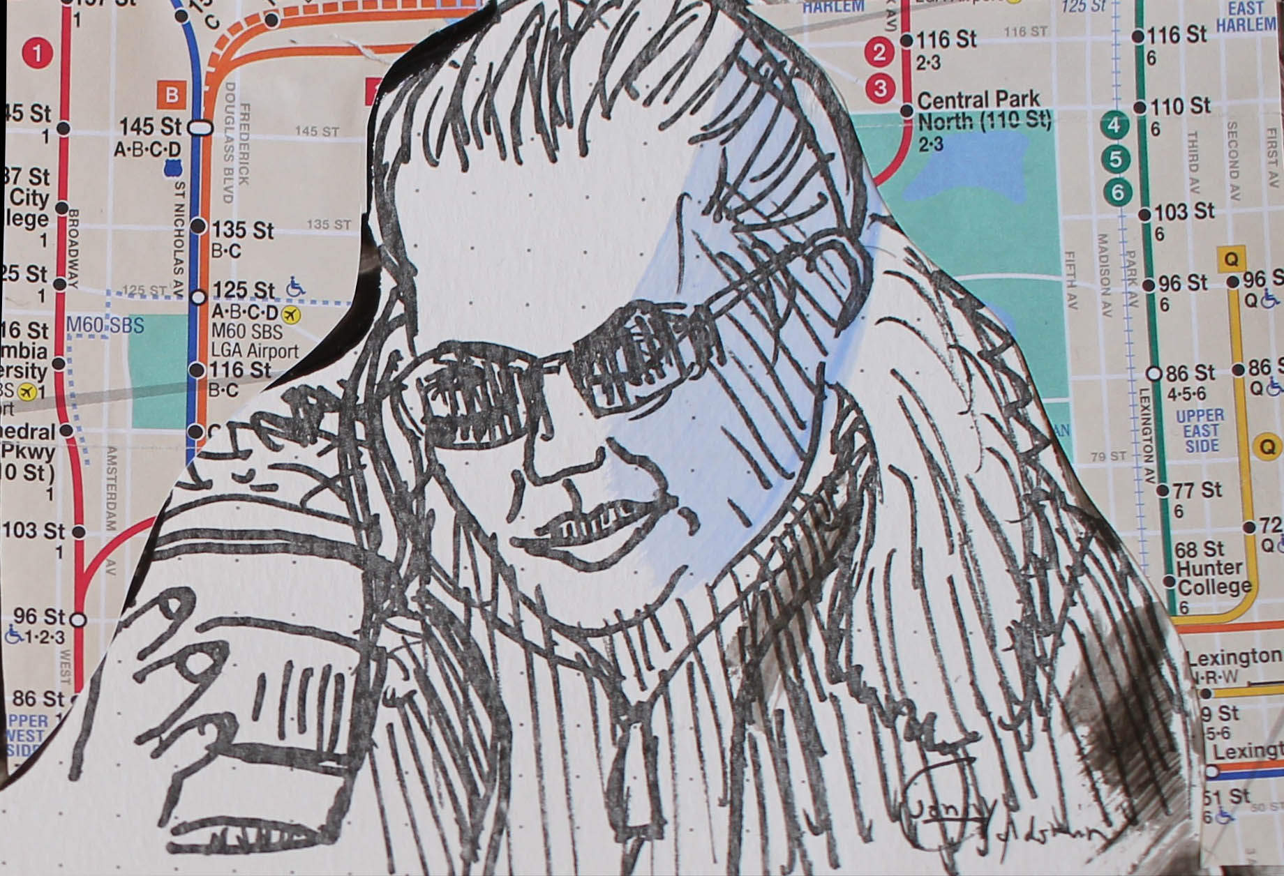 SubwaySeries-BrunetteSunglassesWoman.jpg