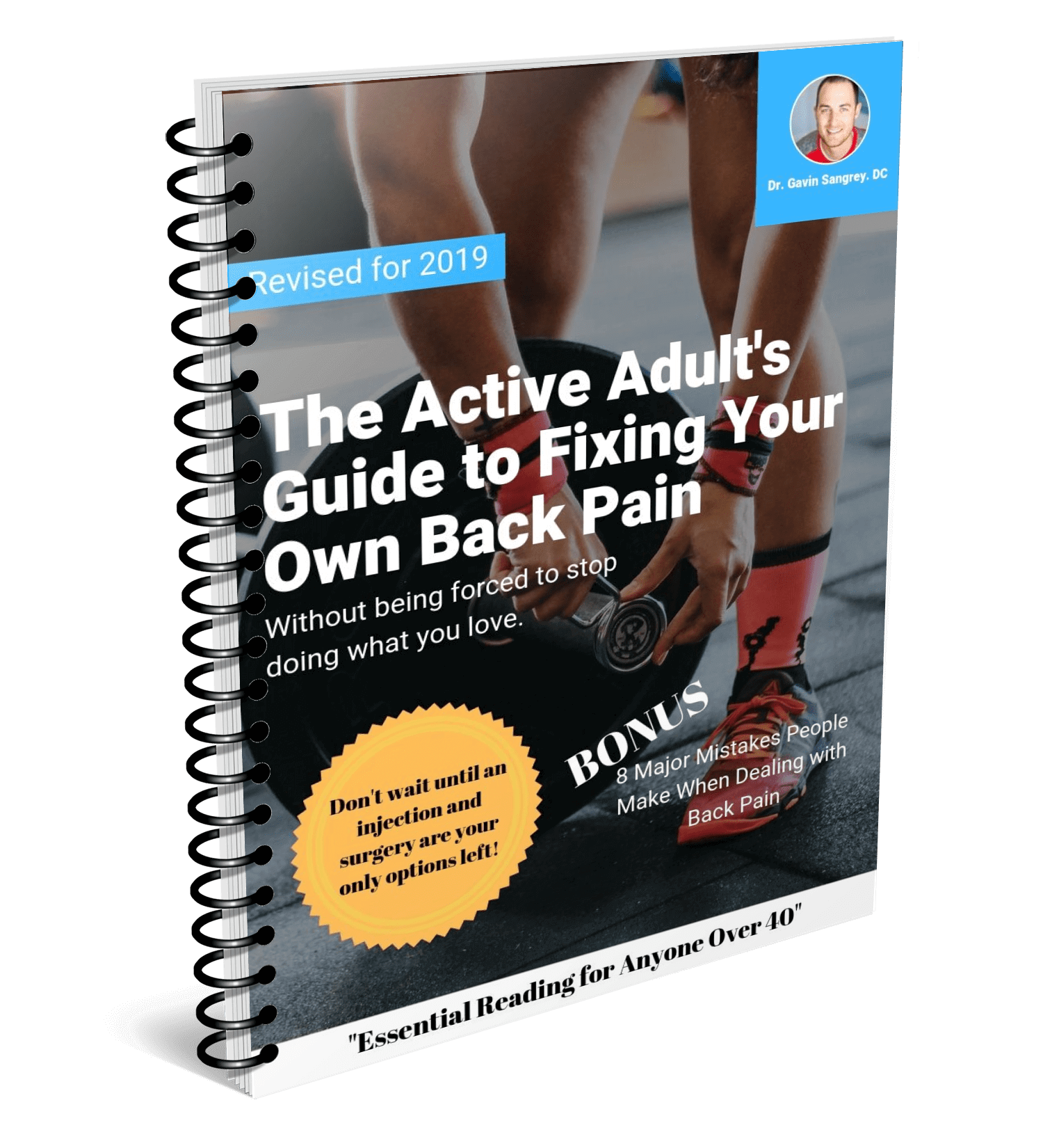 Free Instant Download Reveals: No Chiropractor Needed: The Active Adult Guide to Fixing Your Own Back Pain - Learn more about how to get relief from your back pain. We didn't hold back and packed this with tons of useable information.