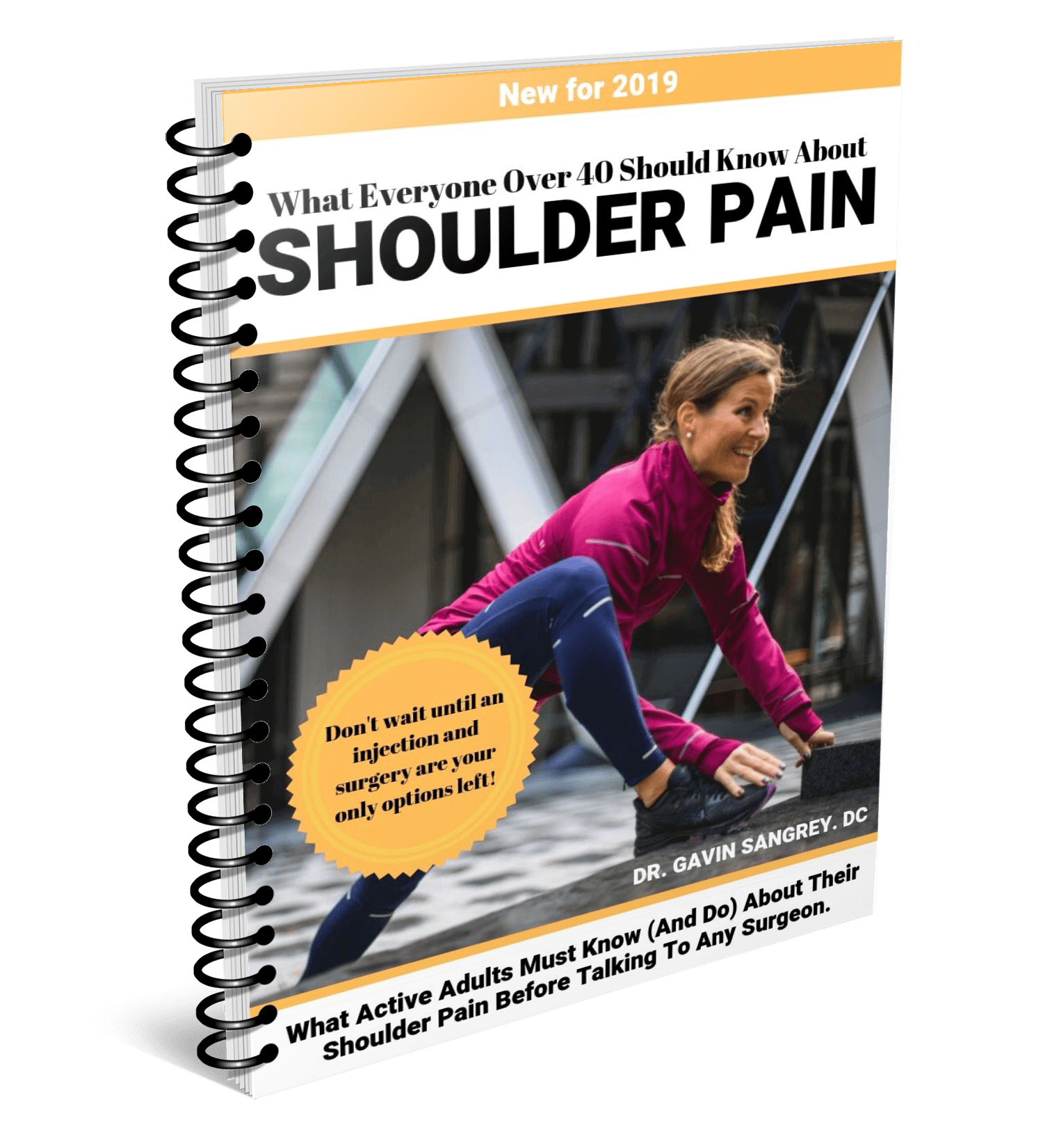 What You Need To Know About Your Shoulder Pain (Especially If You Are Over 40!) - What active adults must know about dealing with shoulder pain to give you your best chance of avoiding any injection or surgery down the road.