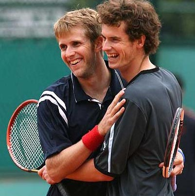 James Aukland - James was a Davis Cup member during 2006, he is a doubles specialist, and was an occasional partner to Andy Murray.He reached the 3rd Round at Wimbledon and ranked in the ATP Top 60. James has doubles wins over the Bryan Brothers and Nadal.