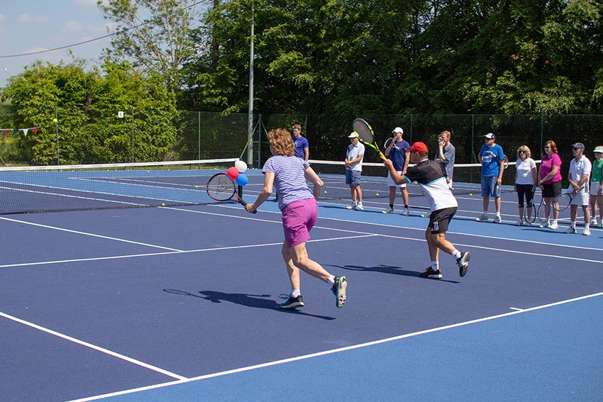 Coaching PrograMme - We are excited to get everyone playing tennis, no matter your age or ability. Our coaching programme caters for juniors and adults of all standards.Find out more →