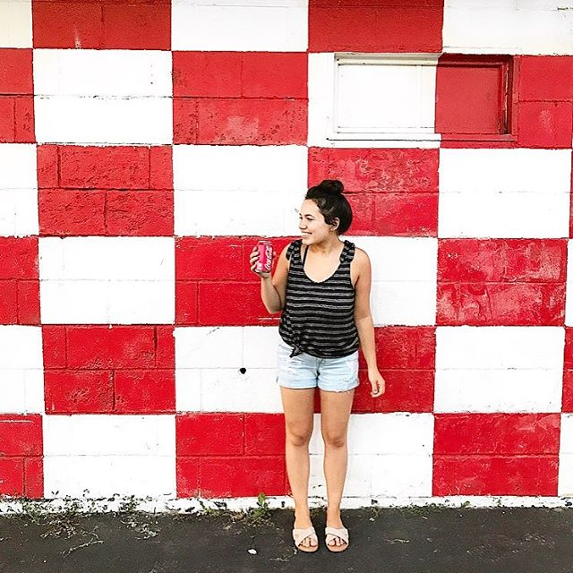 This wall was giving me total 4th of July vibes and I couldn't not take a pic with it!!❤️💙❤️ Honestly can't believe it's already the 4th...🙈 summer is flying by!!🇺🇸❤️💙❤️ . . . . . . #4thofjuly #redwhiteandblue #starsandstripes #gingham #stlstyle #styleblogger #style #styleblog #summer #summervibes #fashion #fashionblog #fashionblogger #beauty #beautyblog #beautyblogger #beautyblogging #stl #stllife #momma #mommablog #mommablogger #mommablogging #lifestyle #lifestyleblog #lifestyleblogger #lifestyleblogging #ootdfashion #ootdstyle #ootd