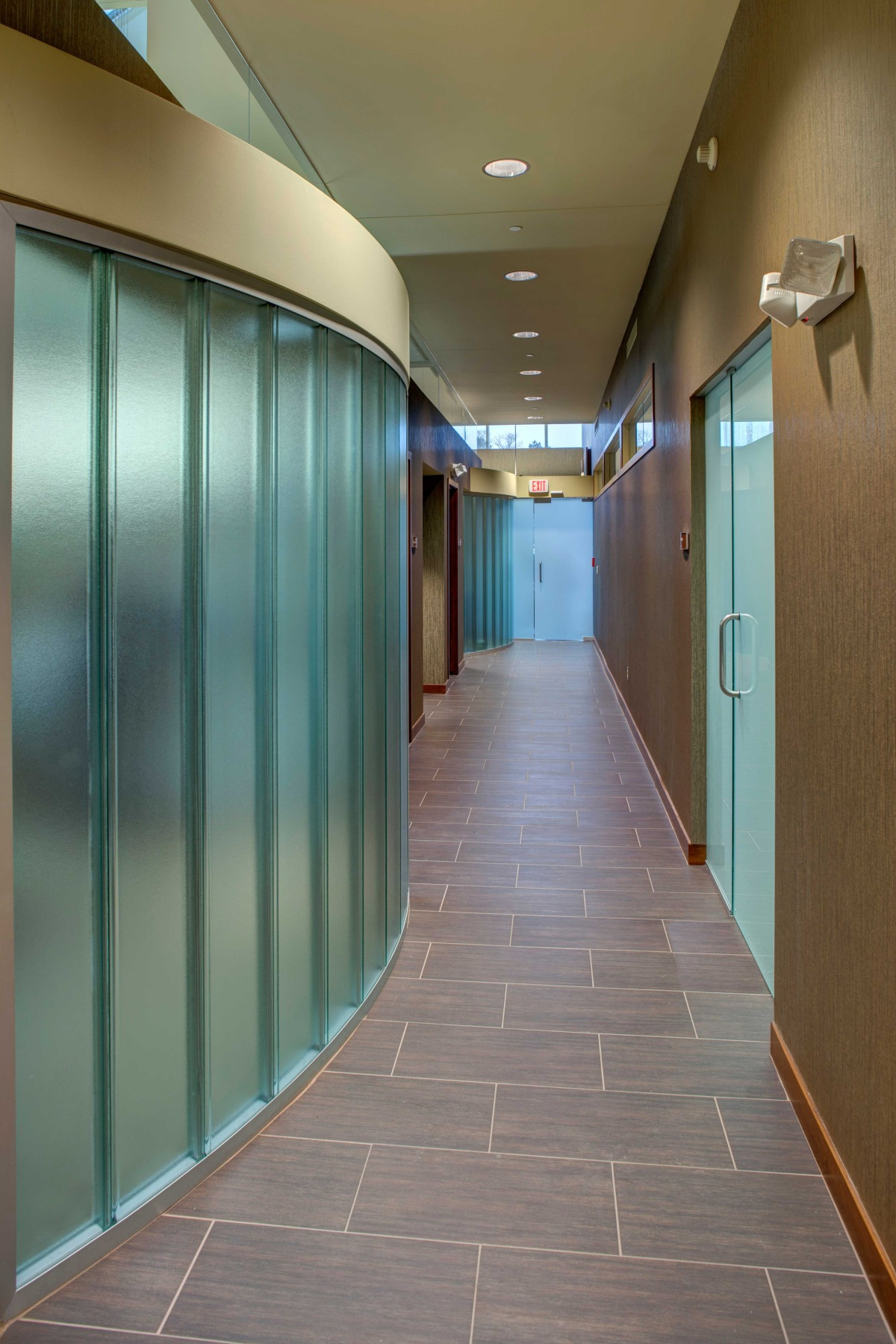 AFTER - Corridor outside Conference Room